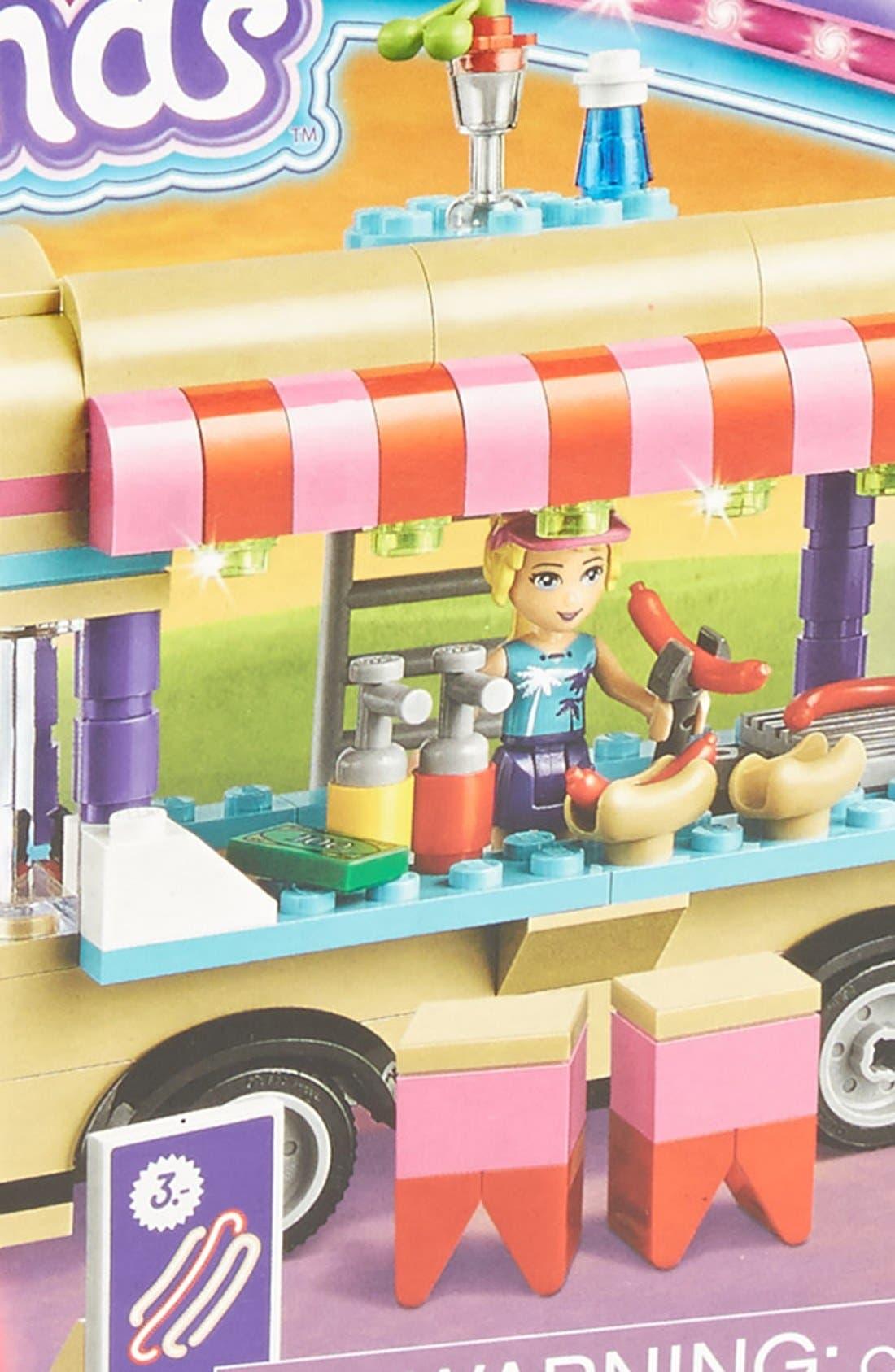 Friends Amusement Park Hot Dog Van - 41129,                             Alternate thumbnail 3, color,                             500