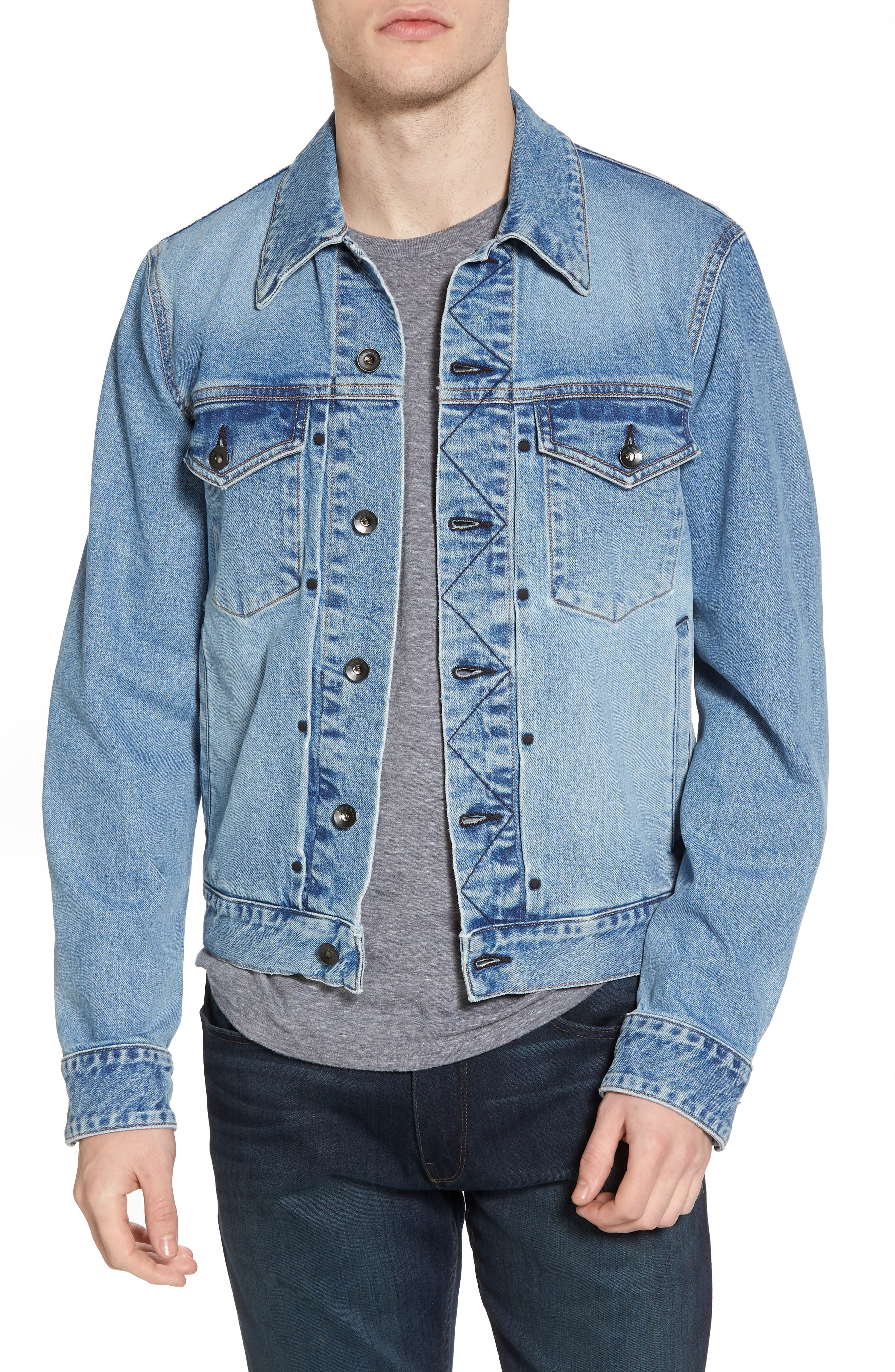 Jean Jacket,                         Main,                         color, 450