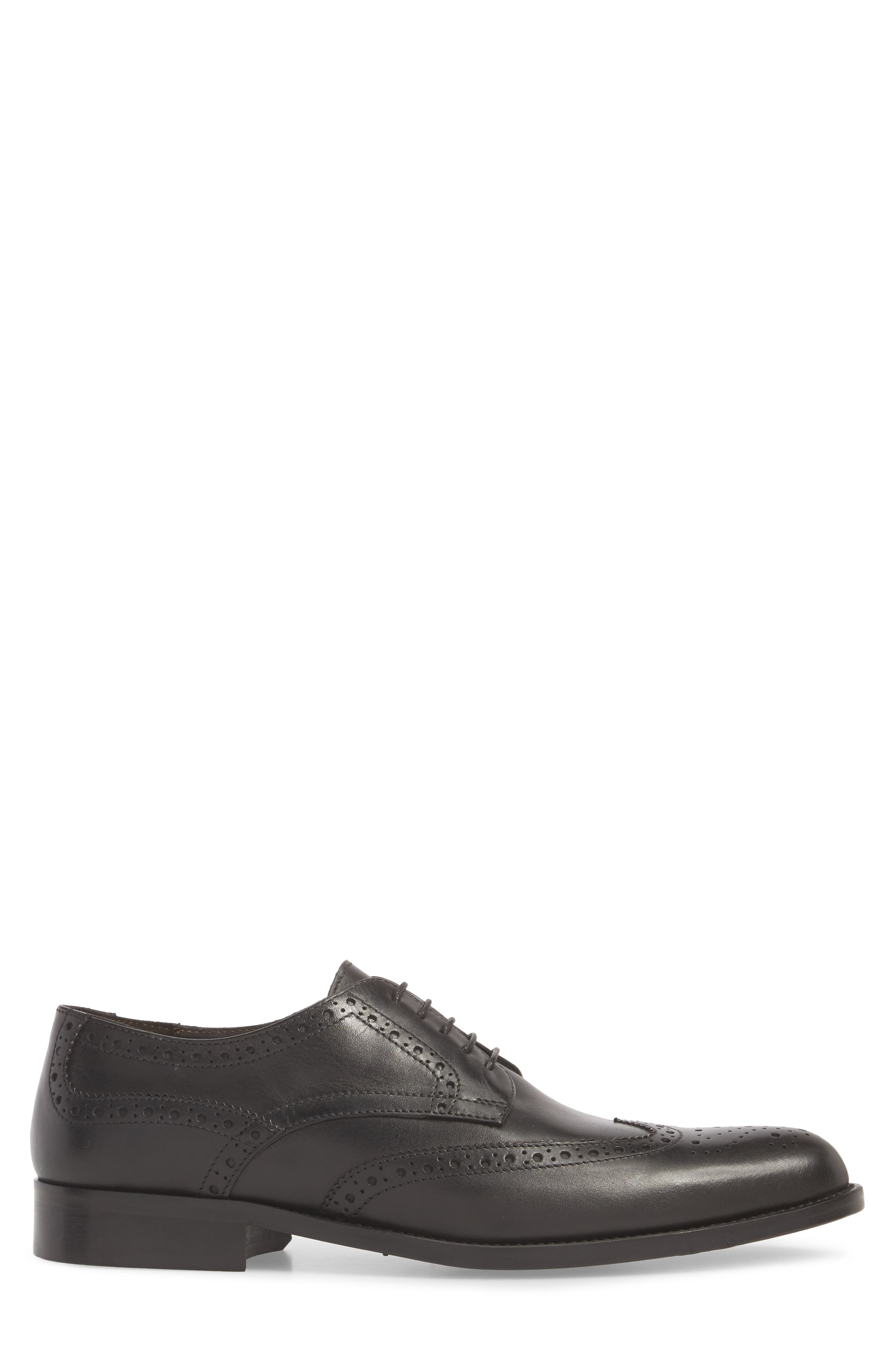 TO BOOT NEW YORK,                             Heinrich Wingtip Derby,                             Alternate thumbnail 3, color,                             001