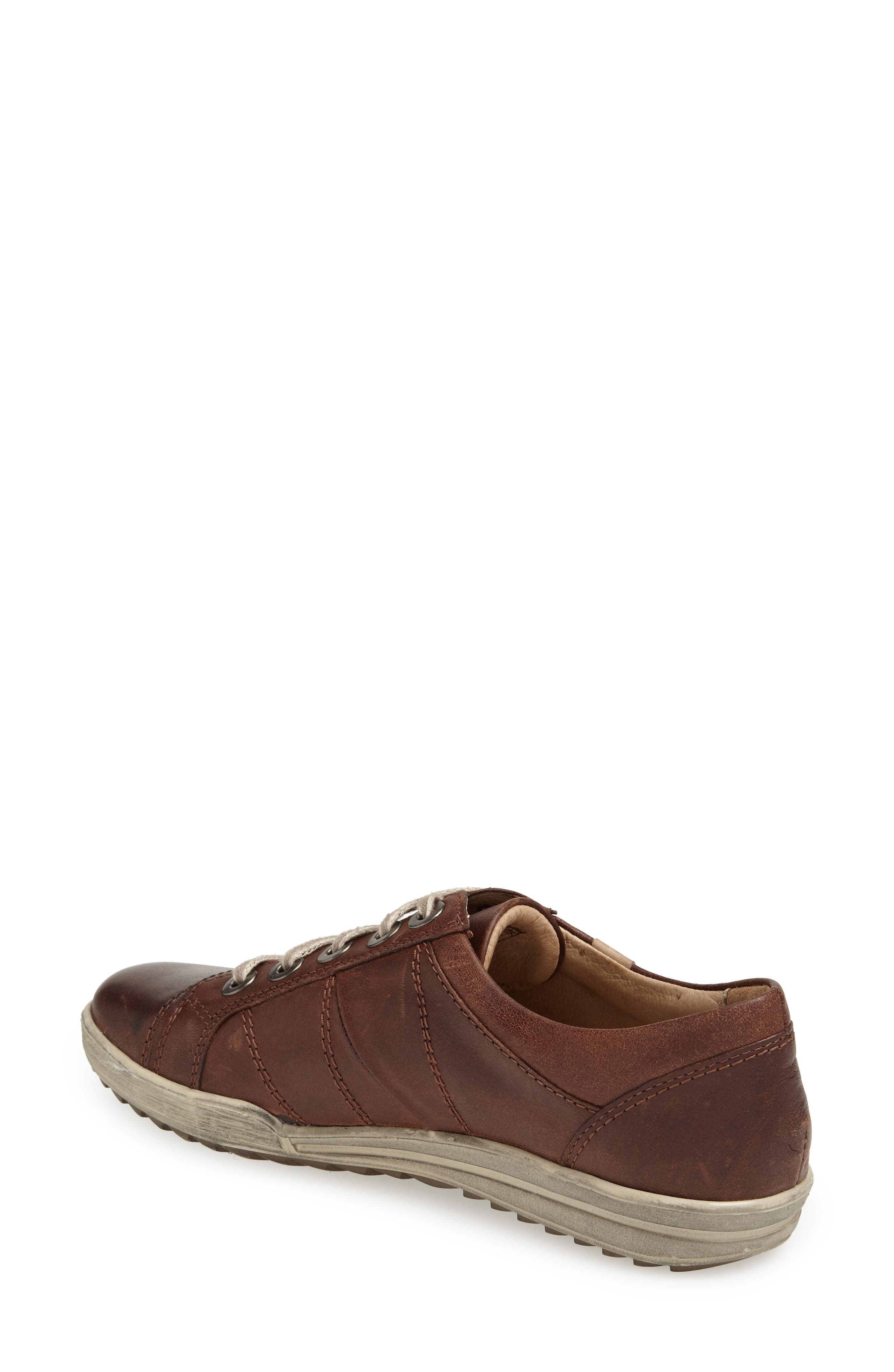 'Dany 05' Leather Sneaker,                             Alternate thumbnail 14, color,