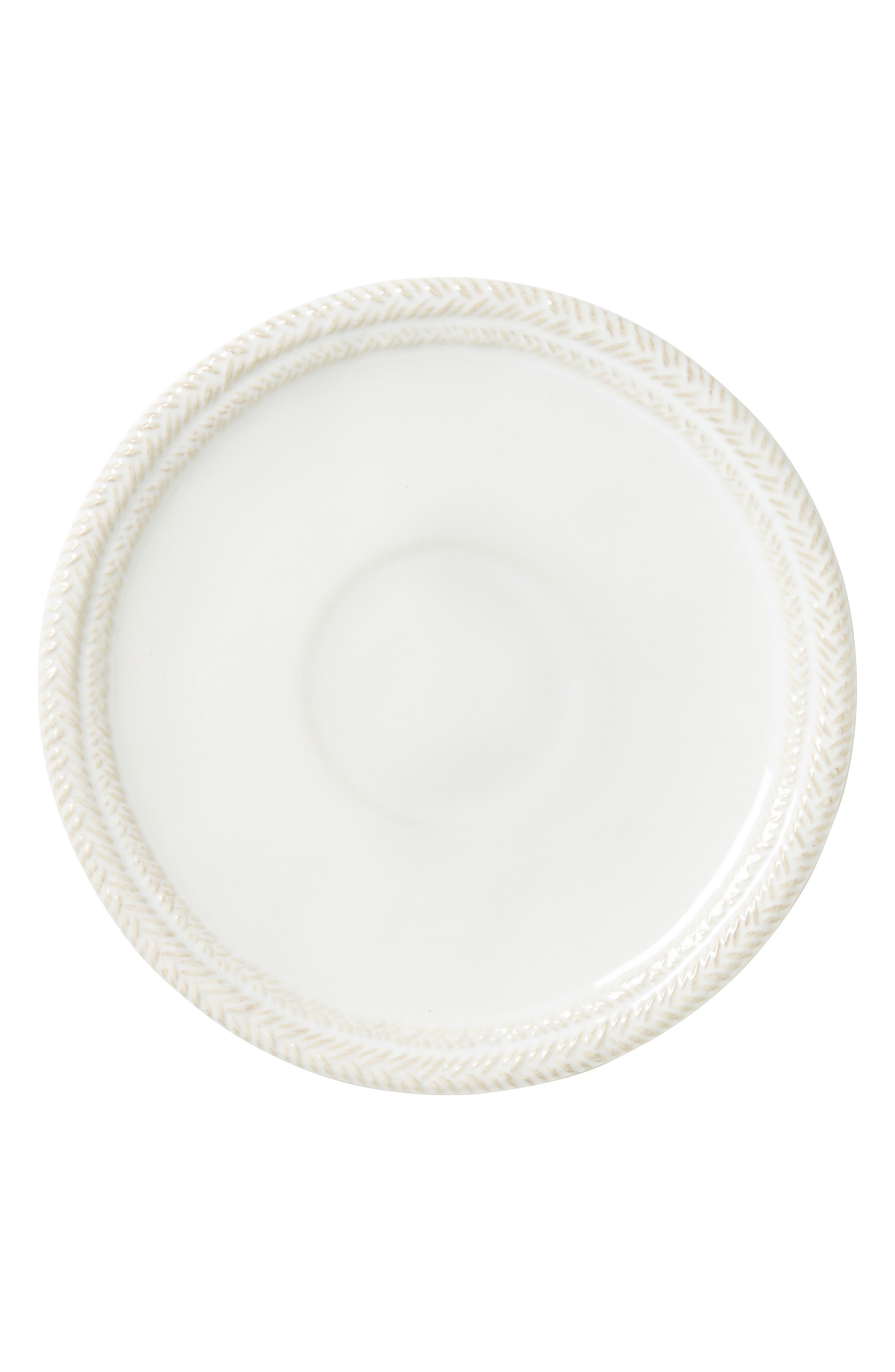 Le Panier Whitewash Saucer,                         Main,                         color, WHITEWASH
