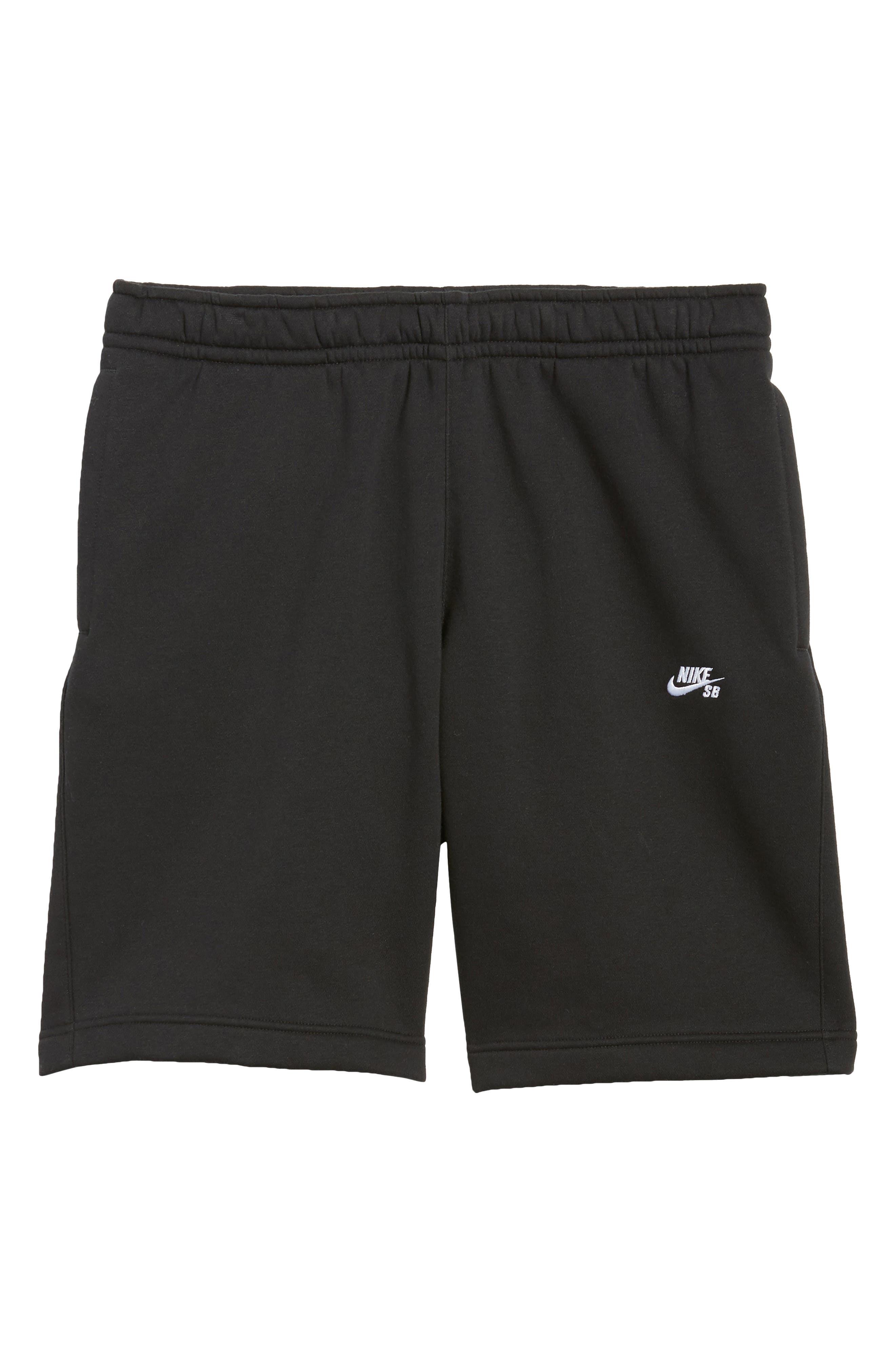 Fleece Shorts,                             Alternate thumbnail 6, color,                             010