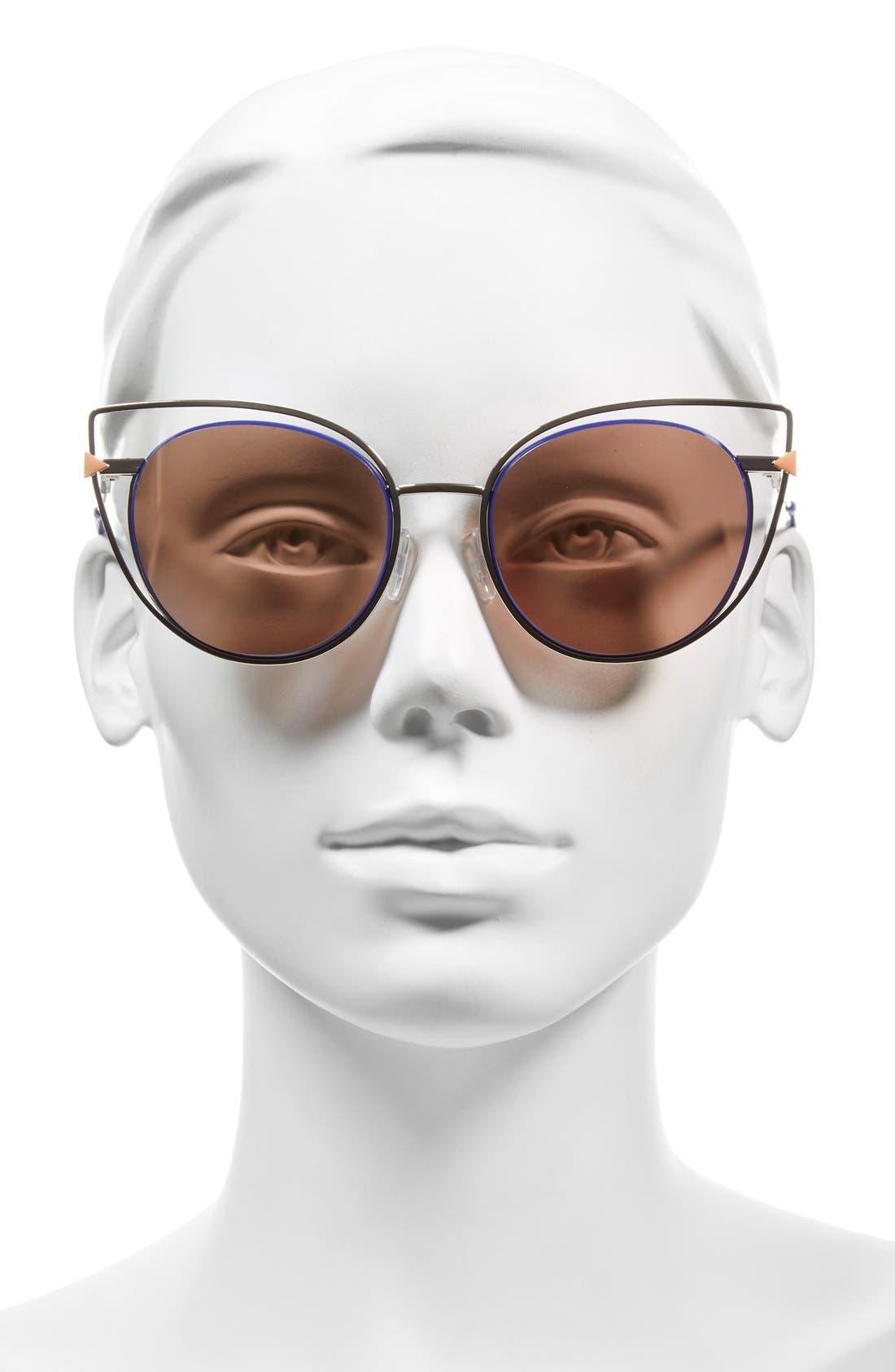 53mm Sunglasses,                             Alternate thumbnail 16, color,