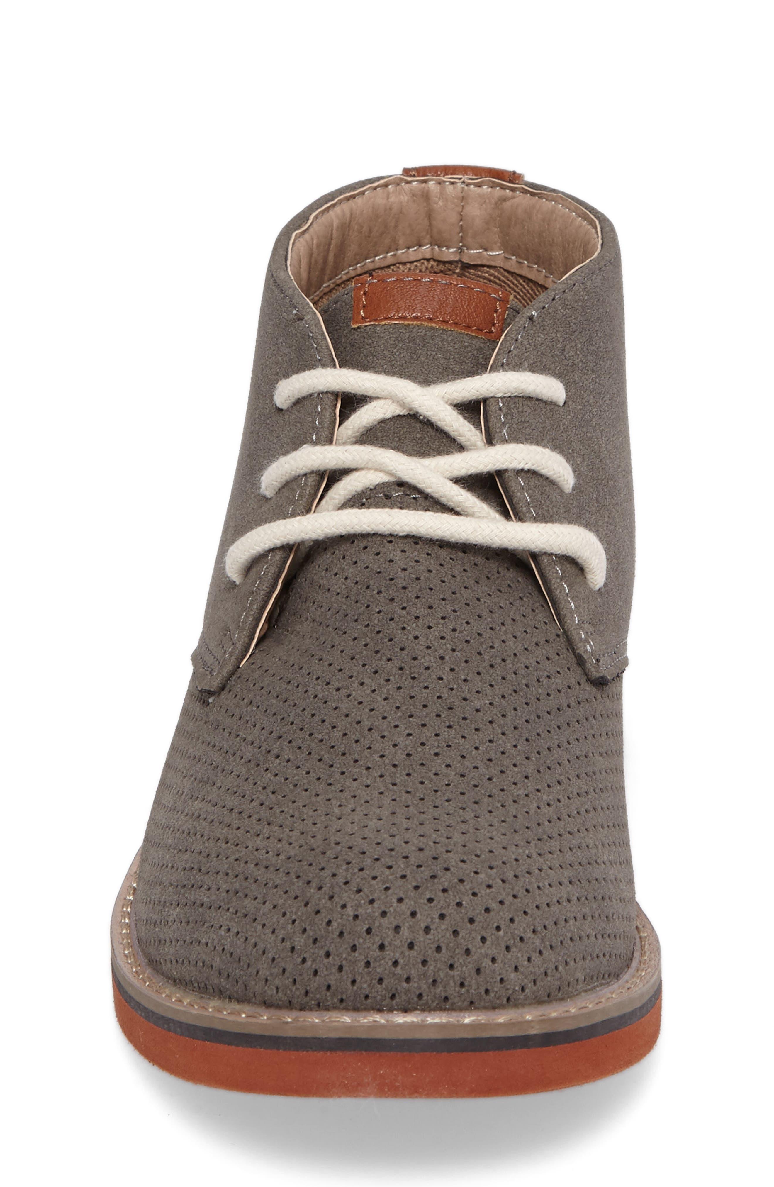 Baden Perforated Chukka Shoe,                             Alternate thumbnail 4, color,                             055