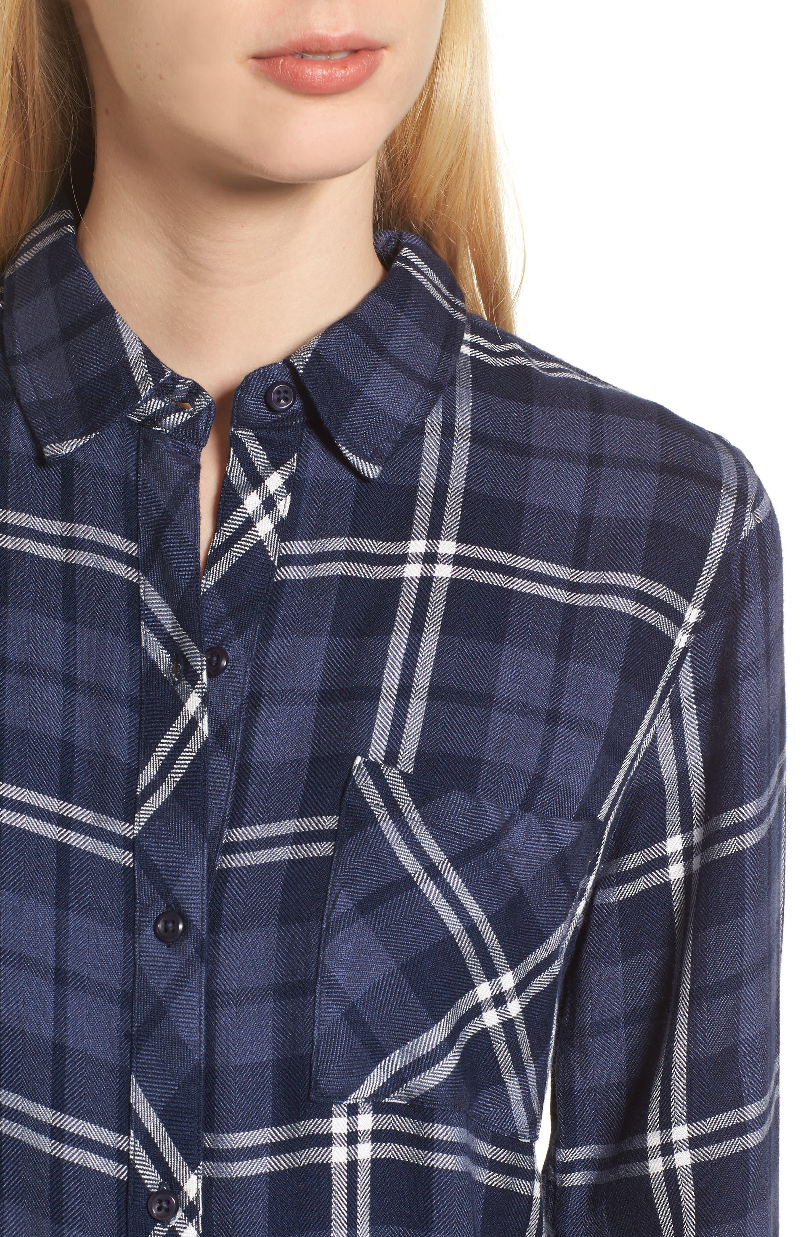 Hunter Plaid Shirt,                             Alternate thumbnail 480, color,