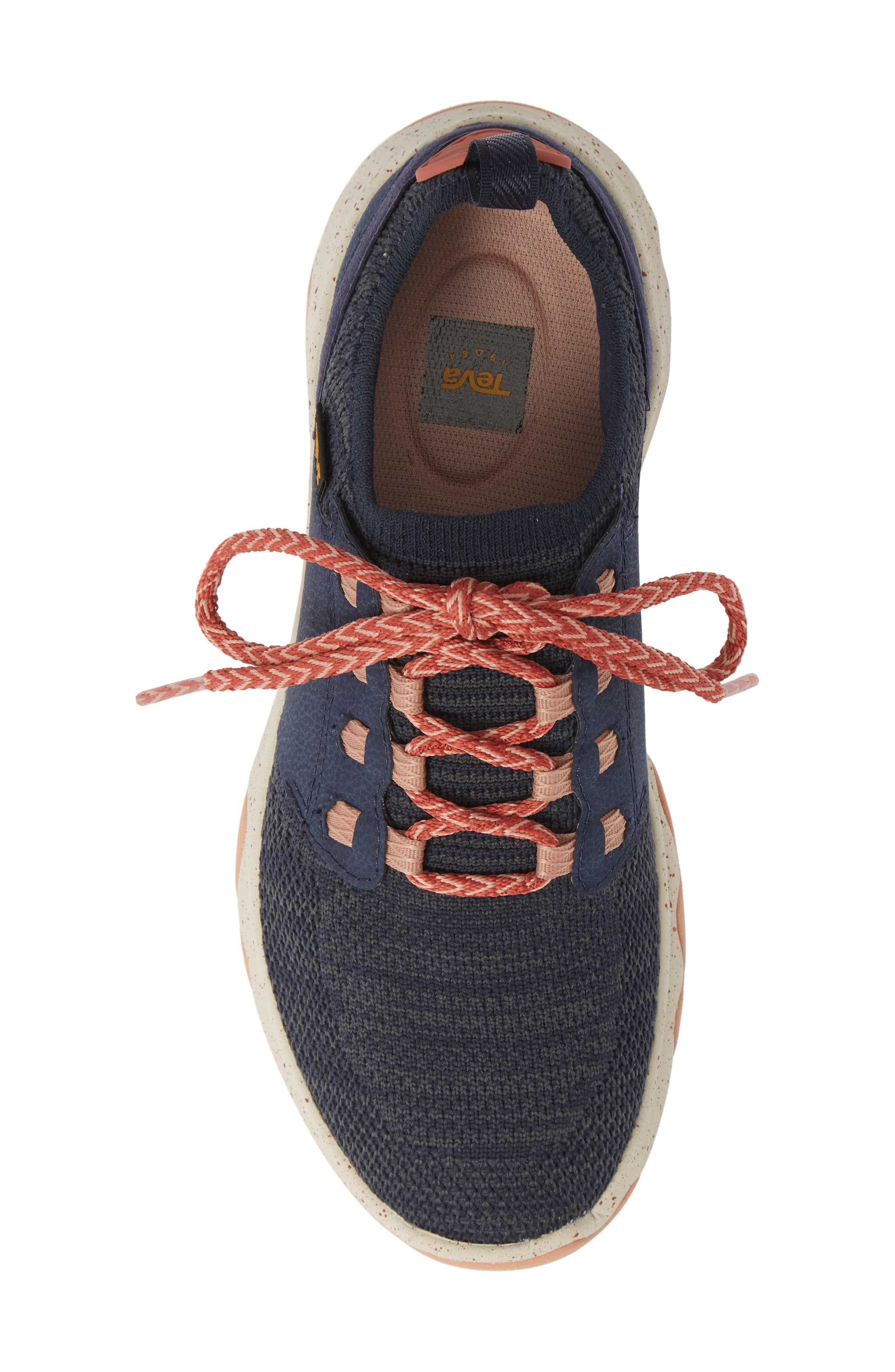 Arrowood 2 Waterproof Knit Sneaker,                             Alternate thumbnail 5, color,                             MIDNIGHT NAVY FABRIC