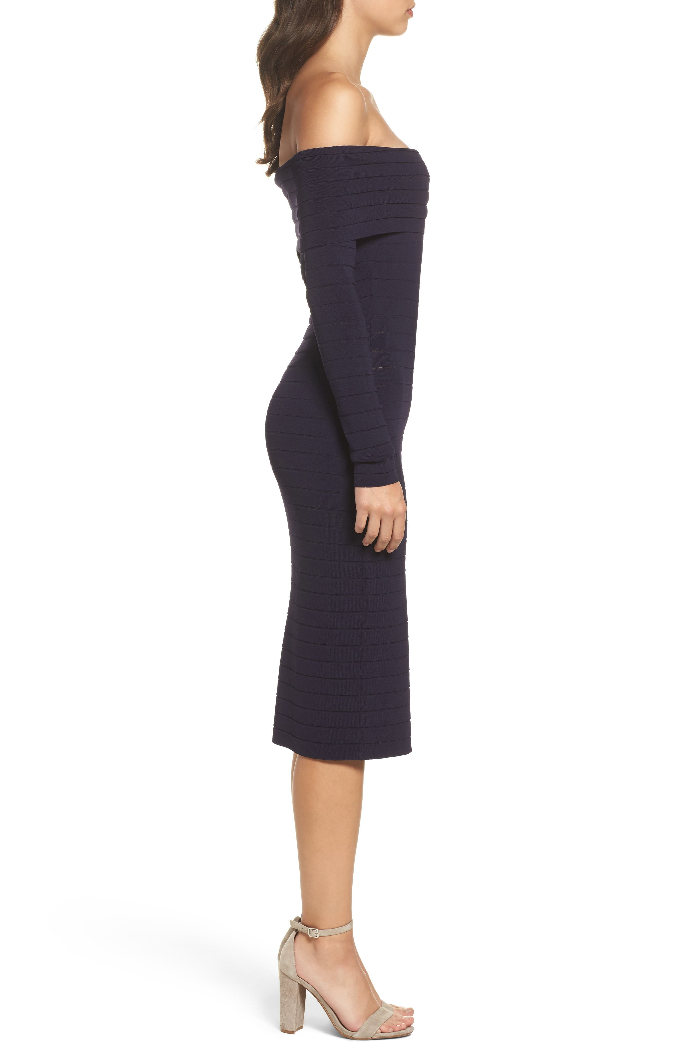 Bandage Midi Dress,                             Alternate thumbnail 13, color,