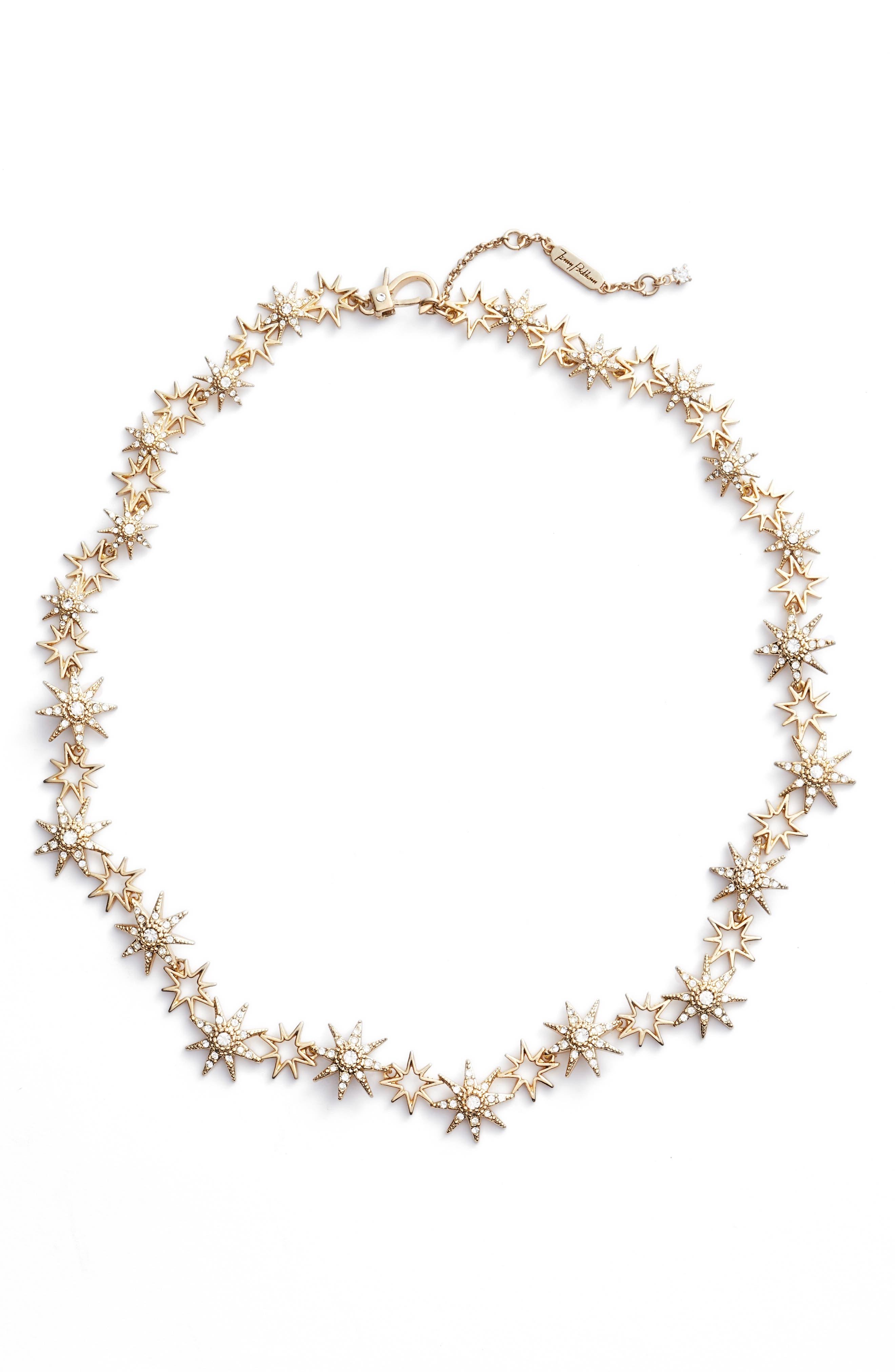 Star Collar Necklace,                             Main thumbnail 1, color,                             710