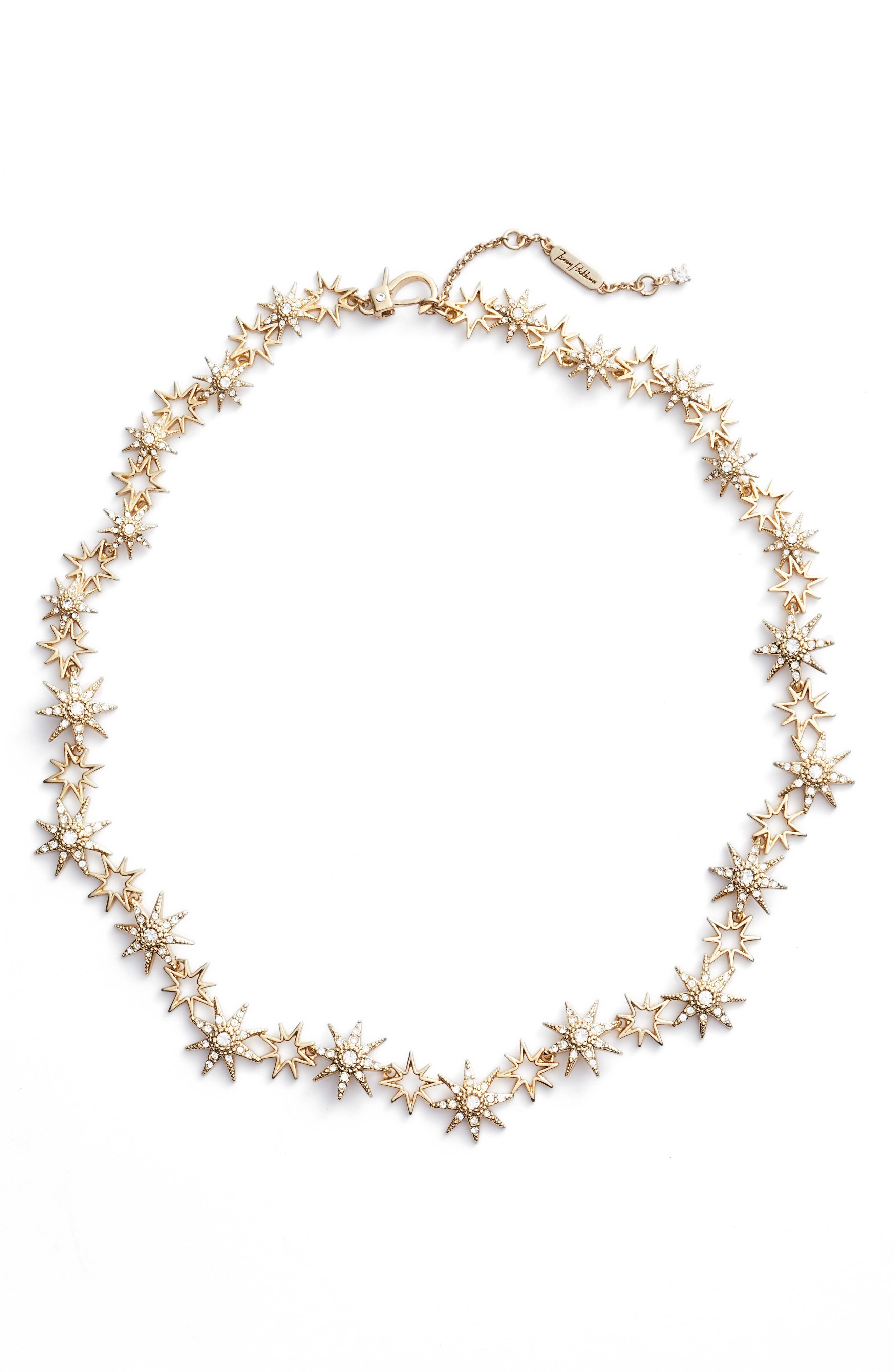 Star Collar Necklace,                         Main,                         color, 710