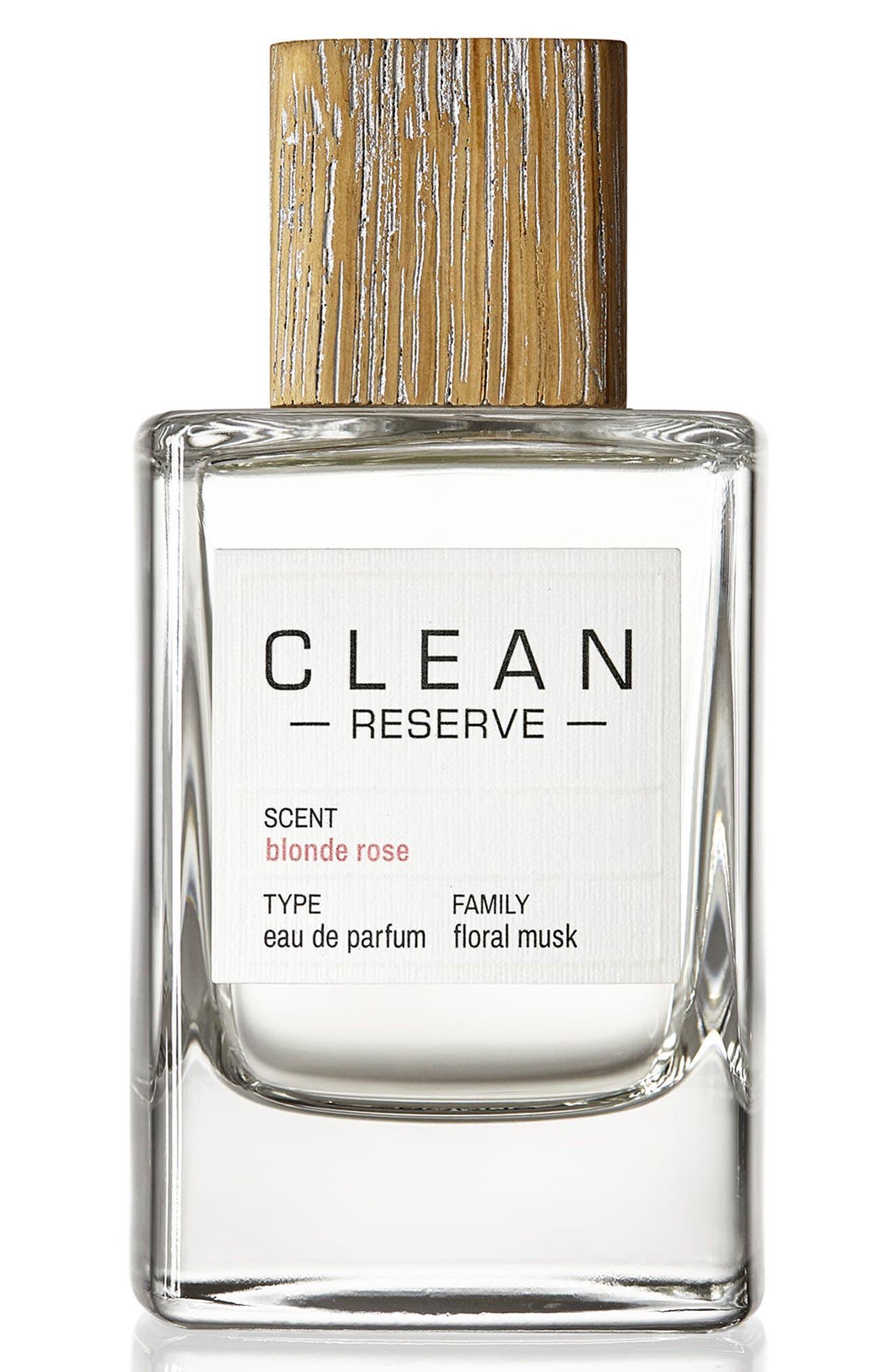 CLEAN RESERVE Blonde Rose Eau de Parfum, Main, color, NO COLOR