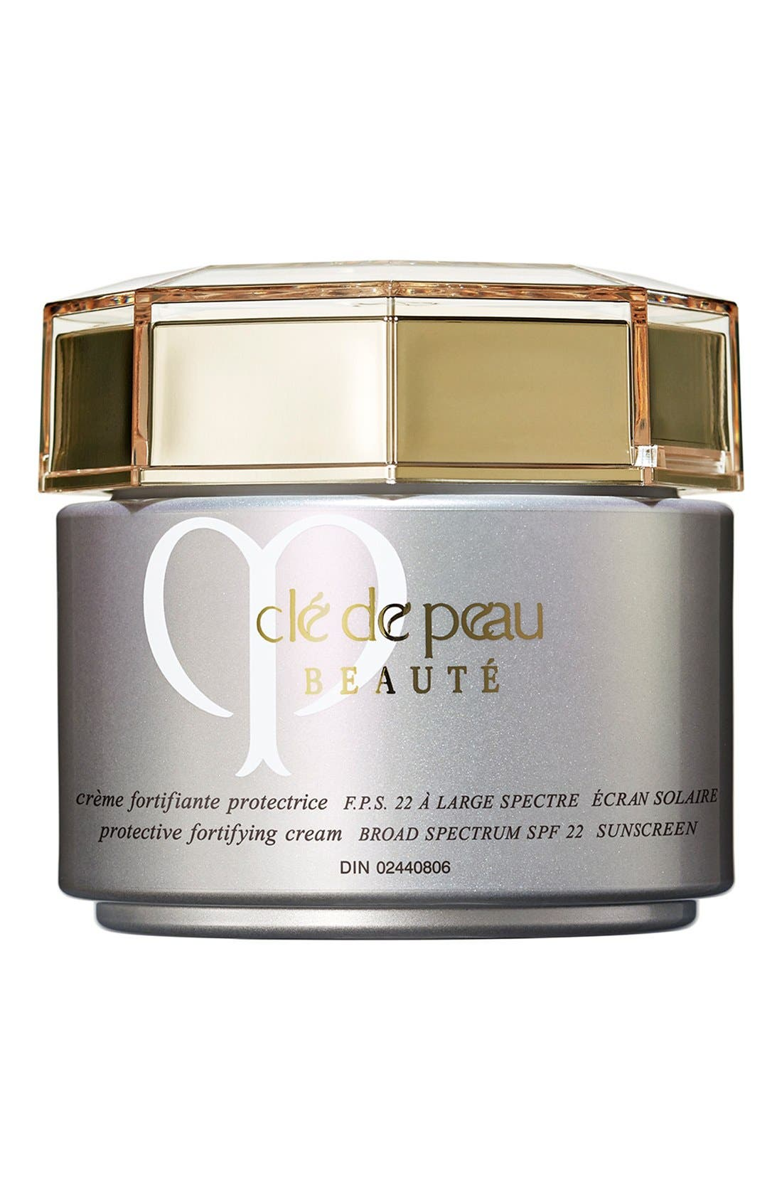 Protective Fortifying Cream Broad Spectrum SPF 22 Sunscreen,                             Alternate thumbnail 3, color,                             NO COLOR