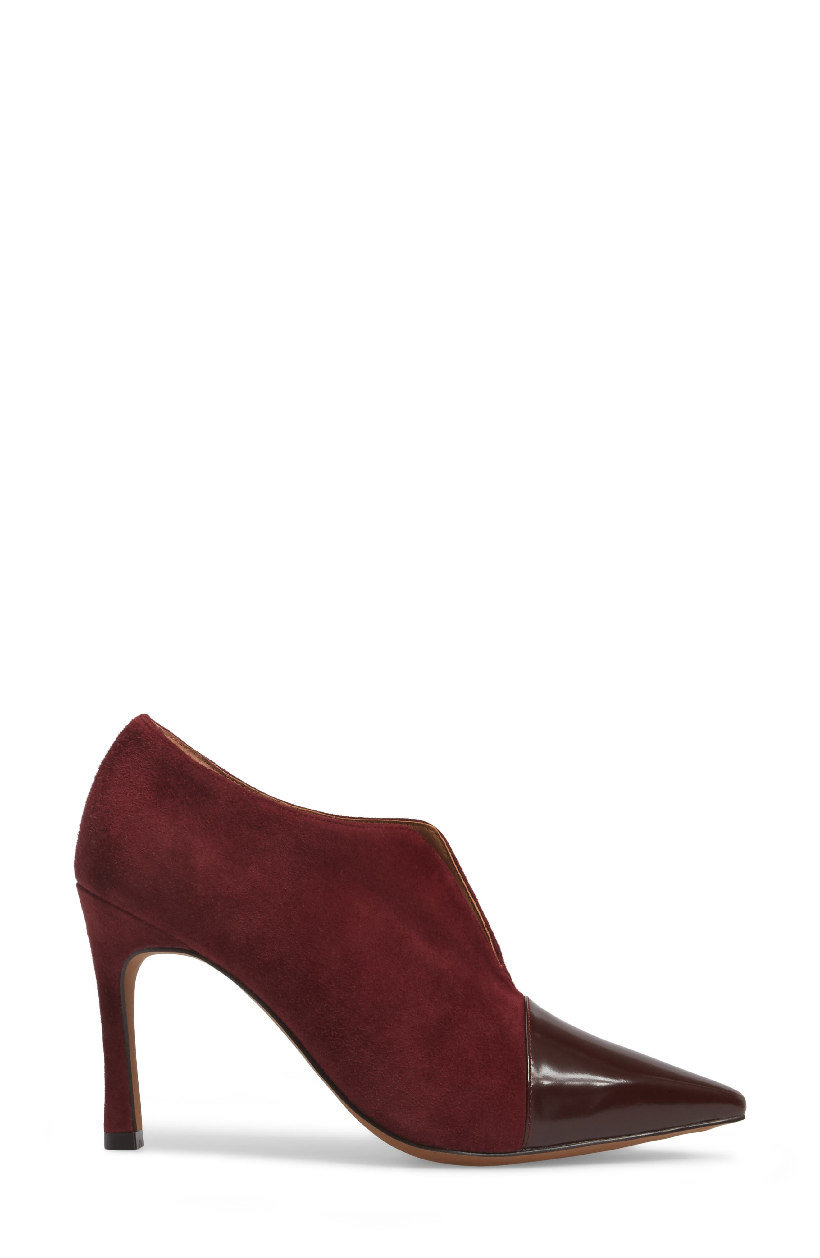 Pointy Toe Bootie,                             Alternate thumbnail 9, color,