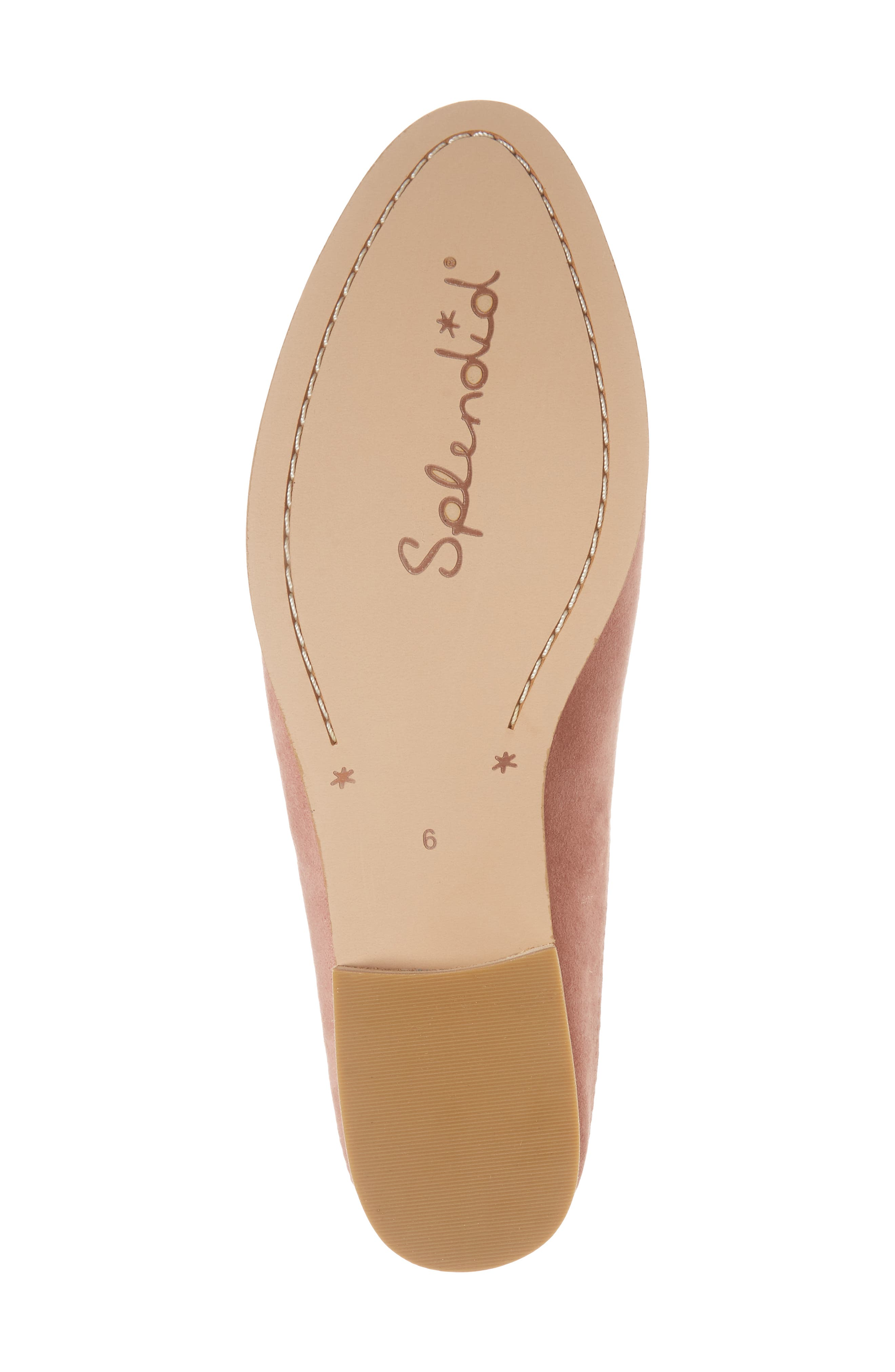 Nima Loafer Mule,                             Alternate thumbnail 6, color,                             ROSE TAUPE SUEDE