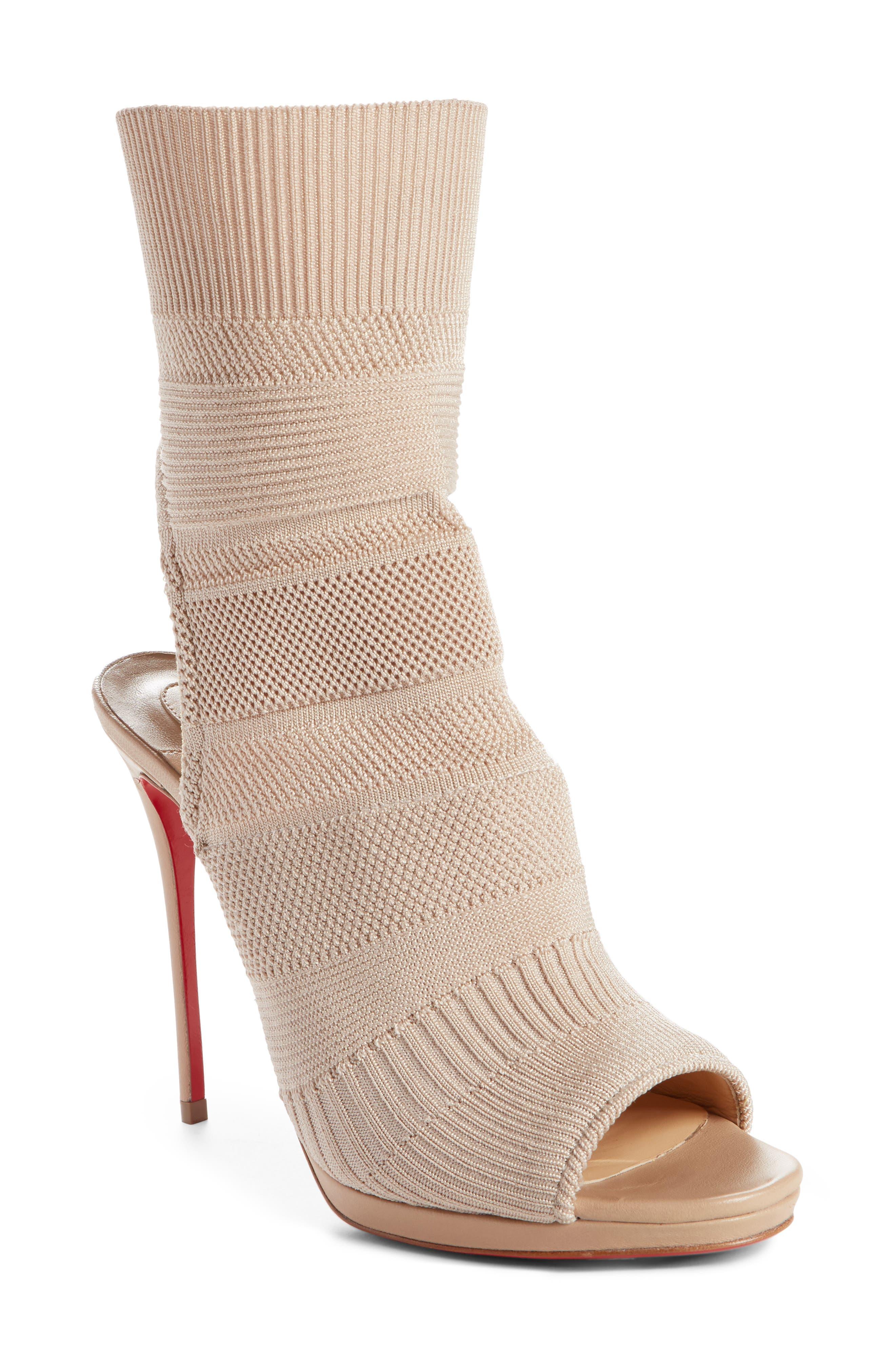 Cheminene Sock Sandal,                             Main thumbnail 2, color,