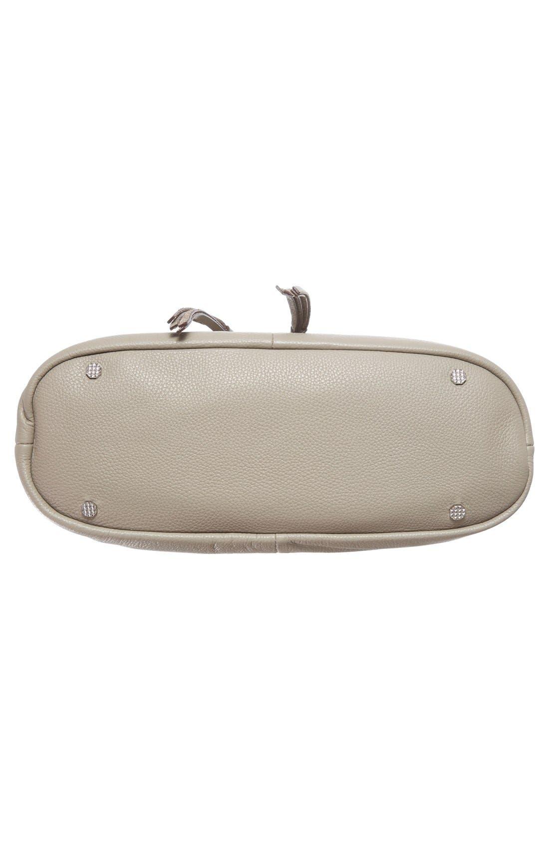 Finley Leather Hobo Bag,                             Alternate thumbnail 10, color,