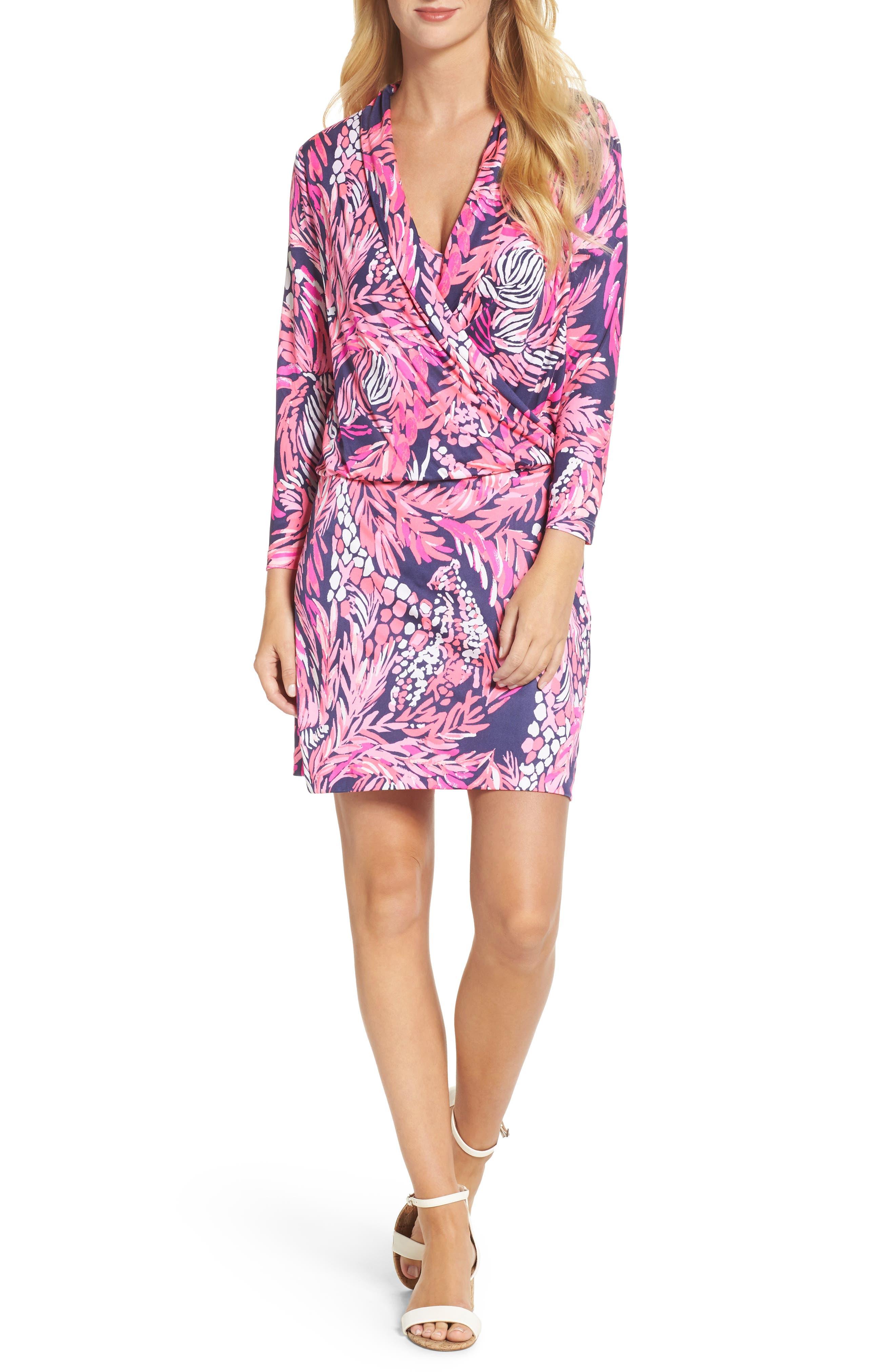 Felizia Silk Dress,                             Main thumbnail 1, color,
