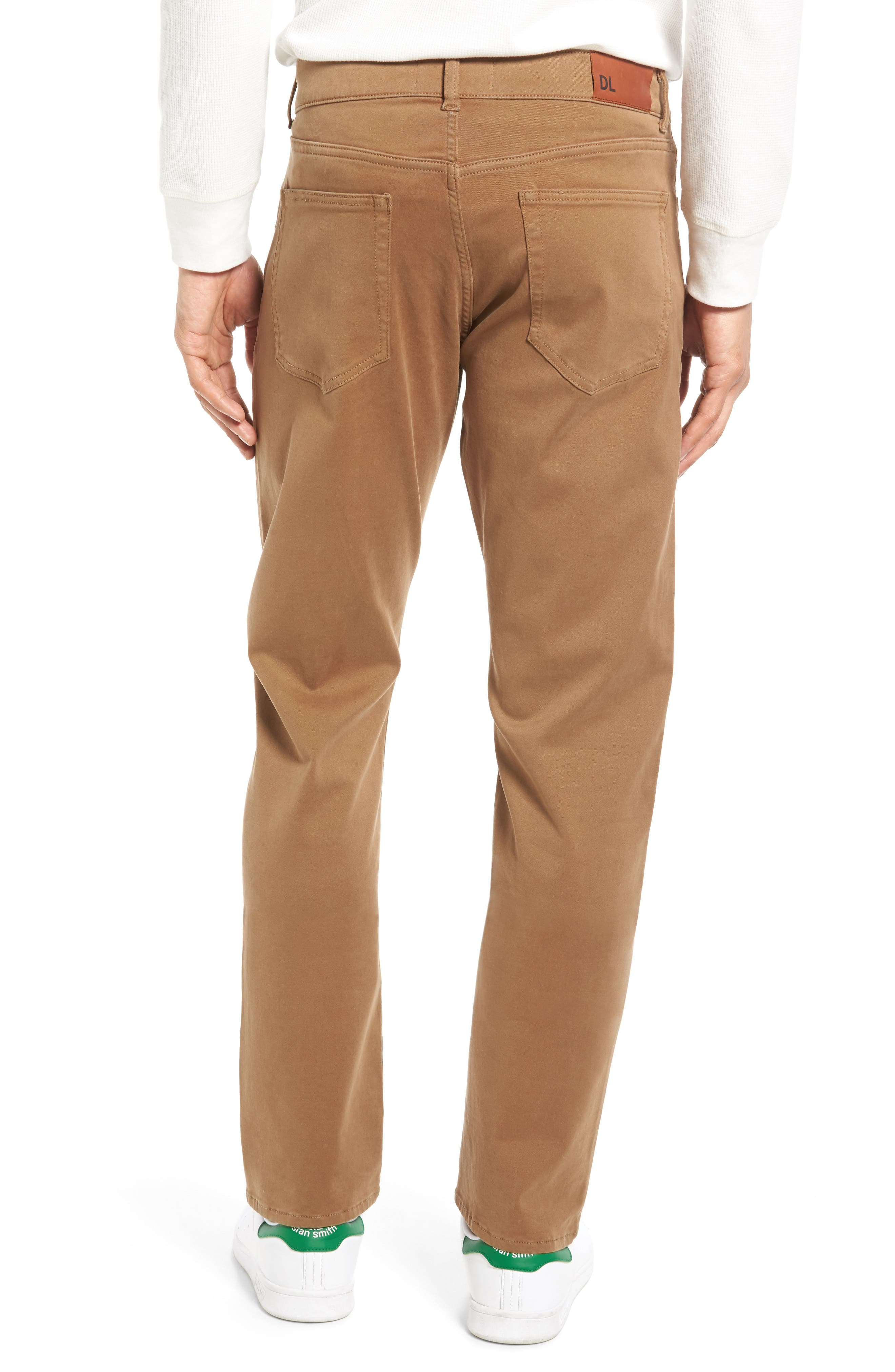 Russell Slim Fit Sateen Twill Pants,                             Alternate thumbnail 15, color,