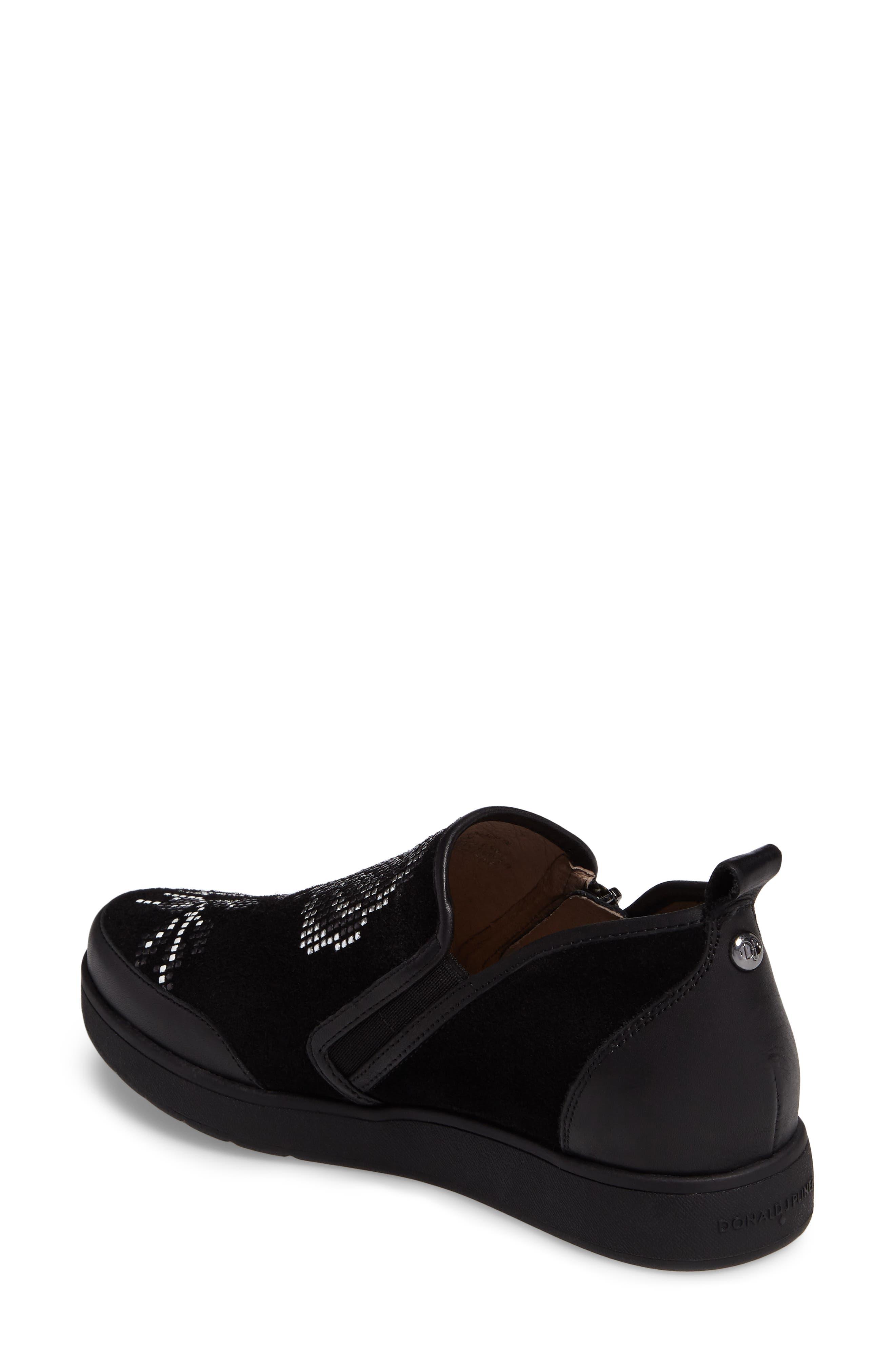 Donald J Pliner Mylasp Embellished Sneaker,                             Alternate thumbnail 2, color,                             001
