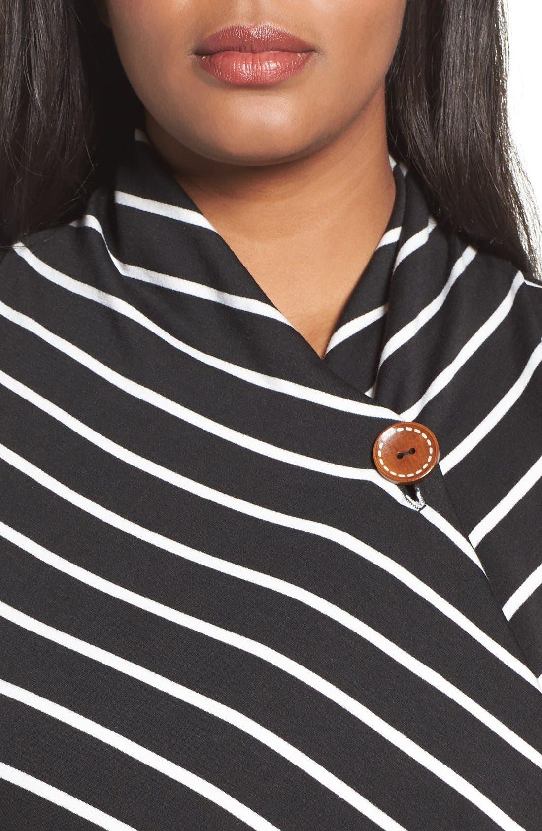 One-Button Fleece Cardigan,                             Alternate thumbnail 220, color,