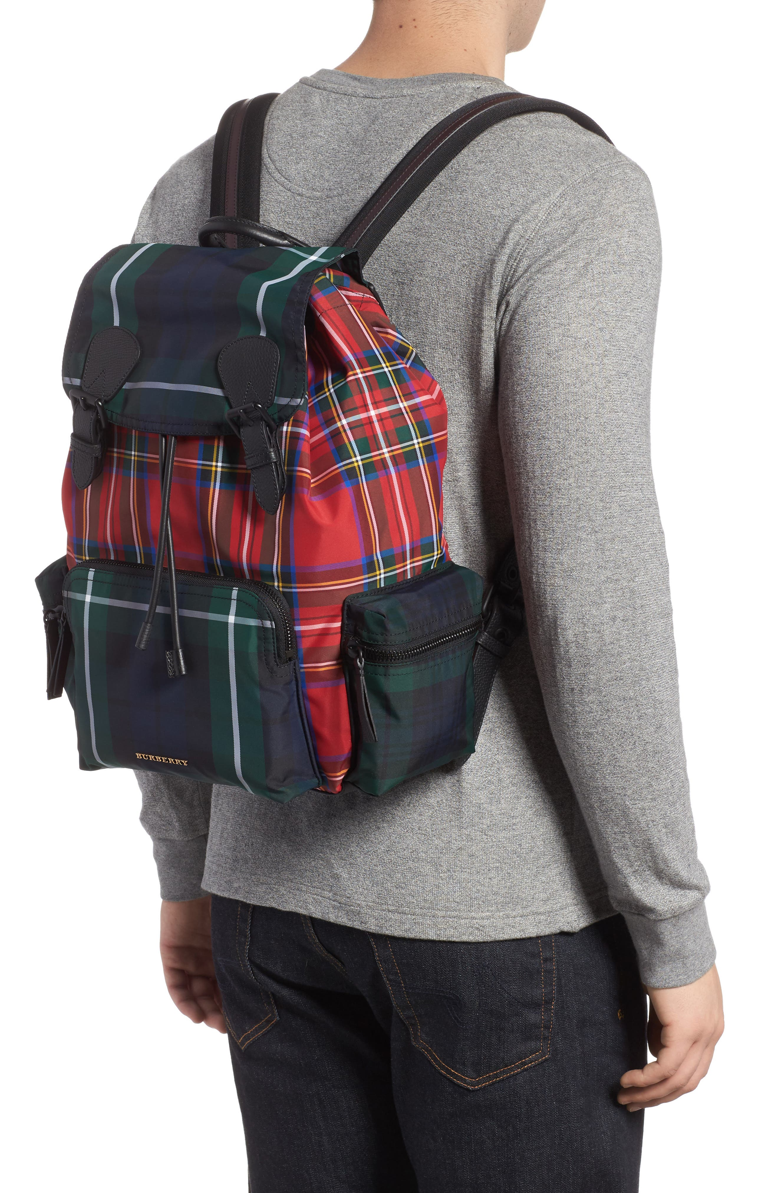 Tartan Backpack,                             Alternate thumbnail 2, color,                             608