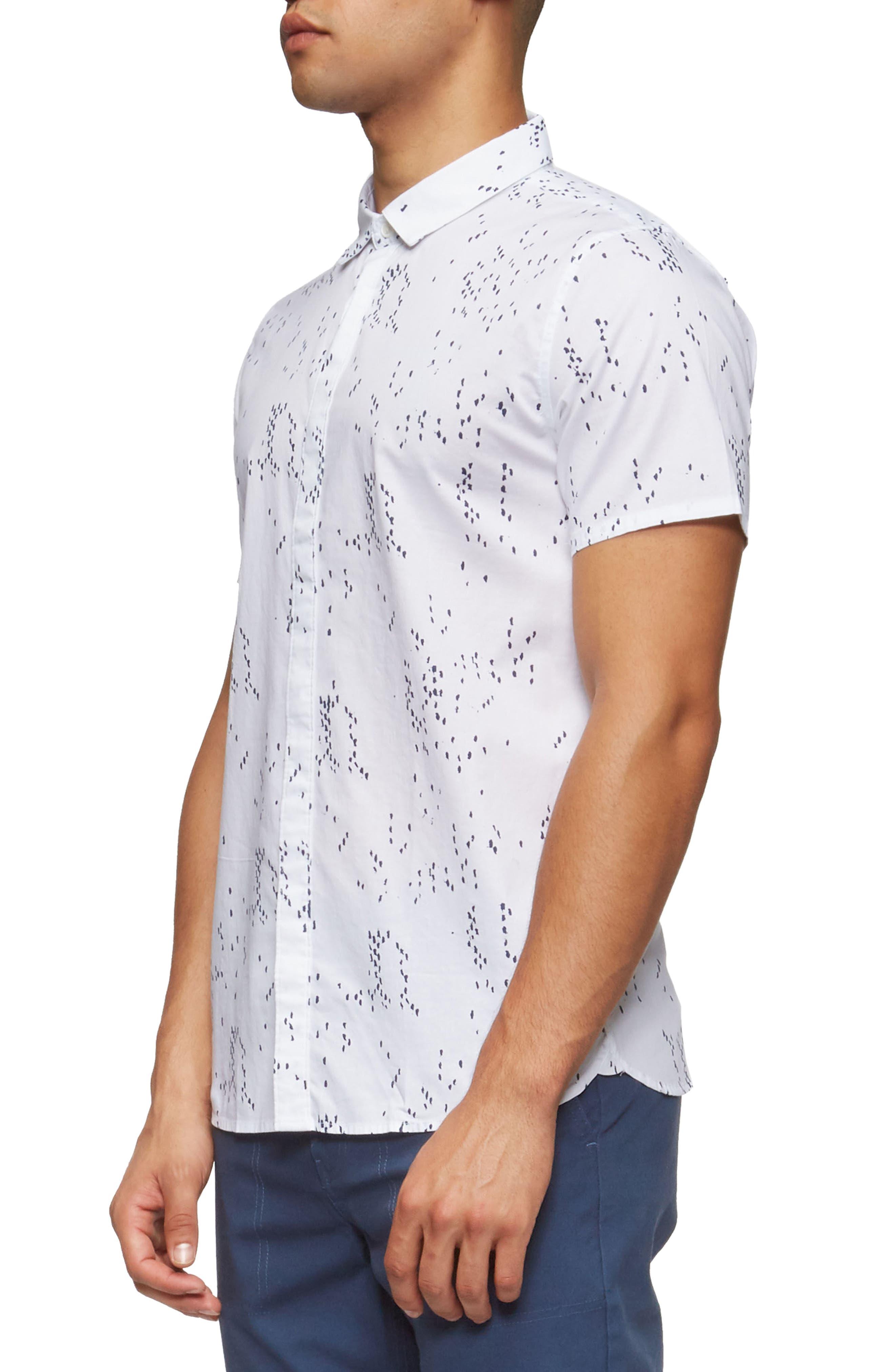 Bowery Short Sleeve Shirt,                             Alternate thumbnail 9, color,