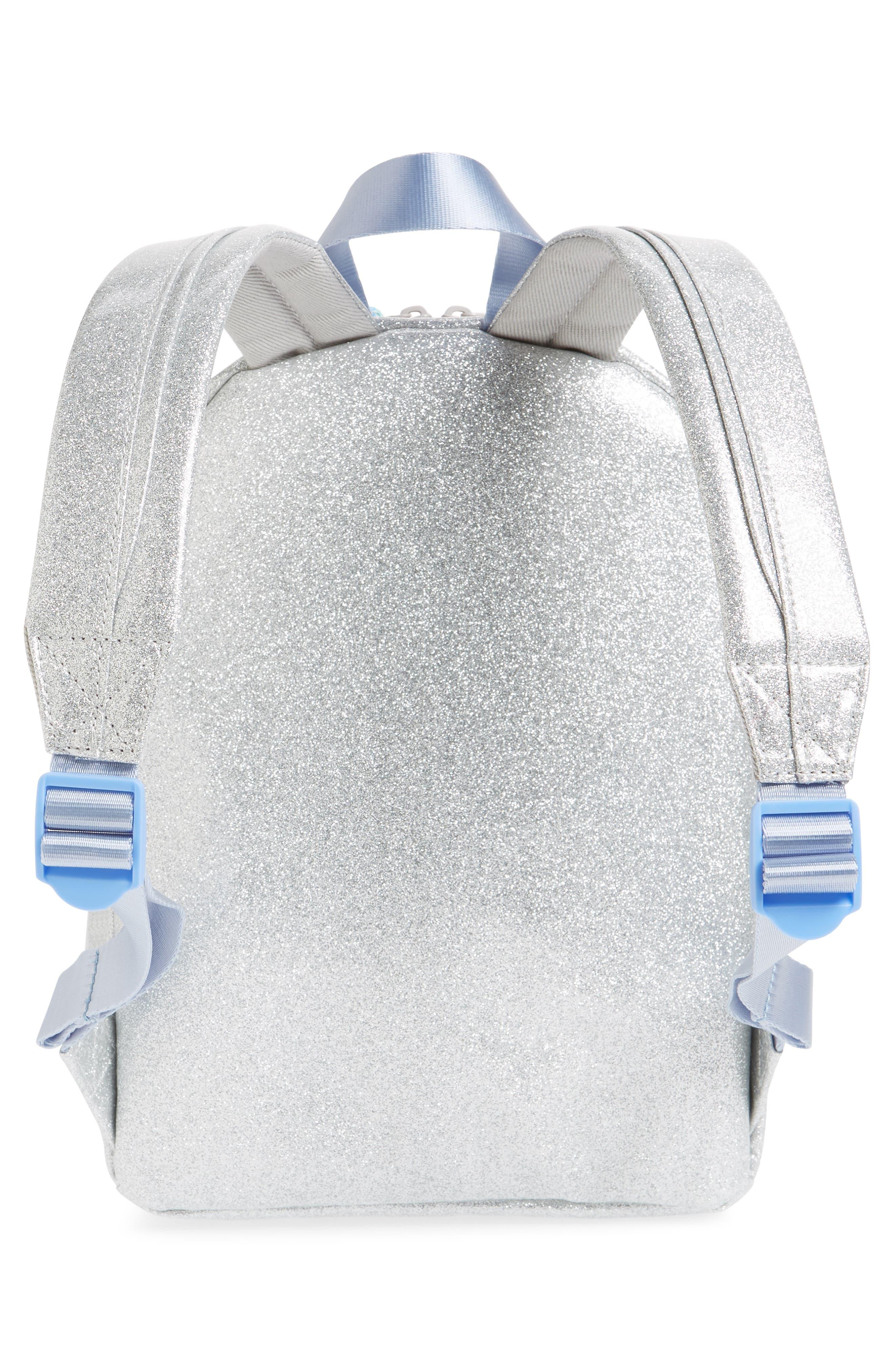 Glitter Mini Backpack,                             Alternate thumbnail 2, color,                             MORNING FOG