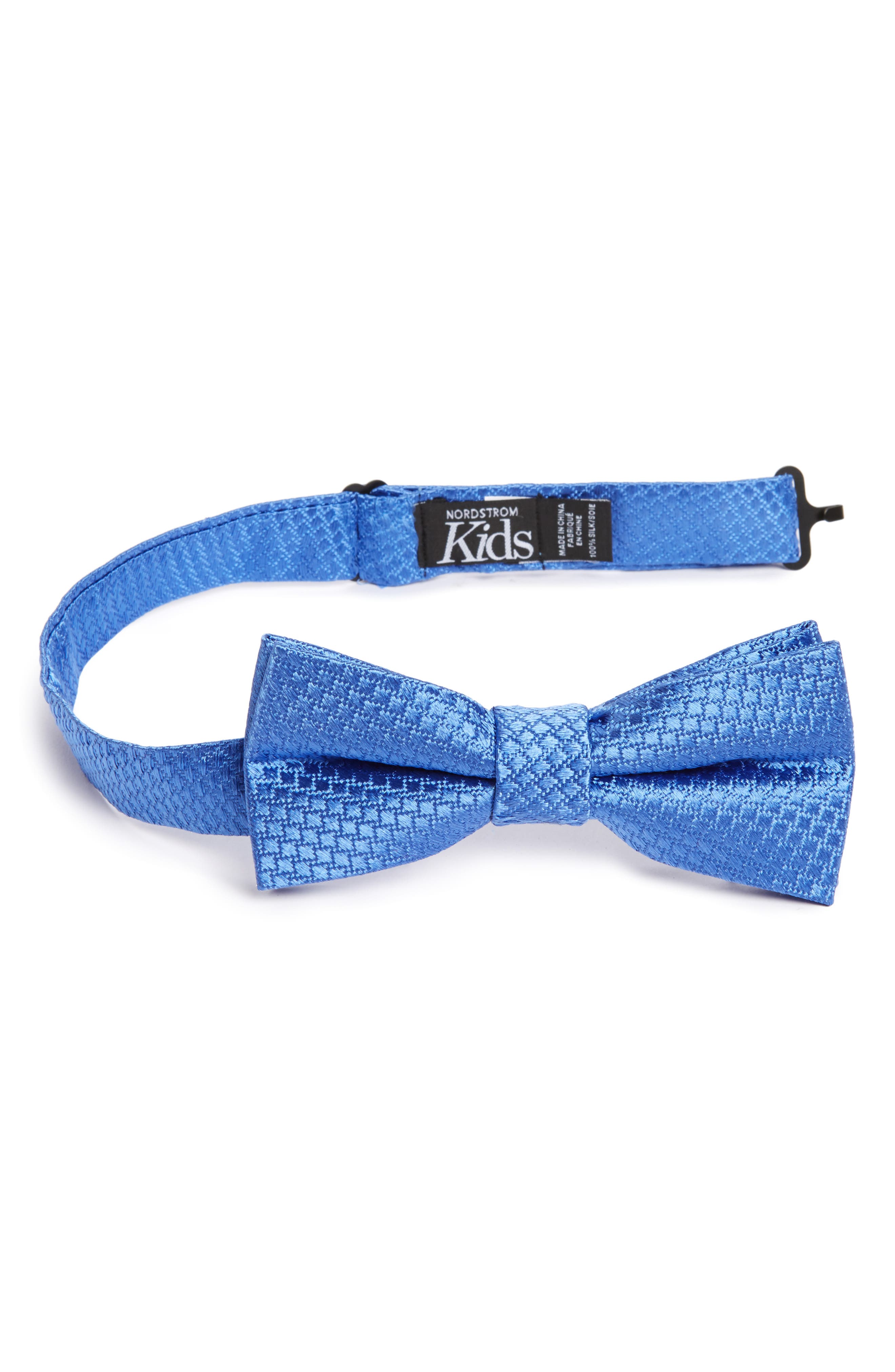 Solid Silk Bow Tie,                             Main thumbnail 3, color,