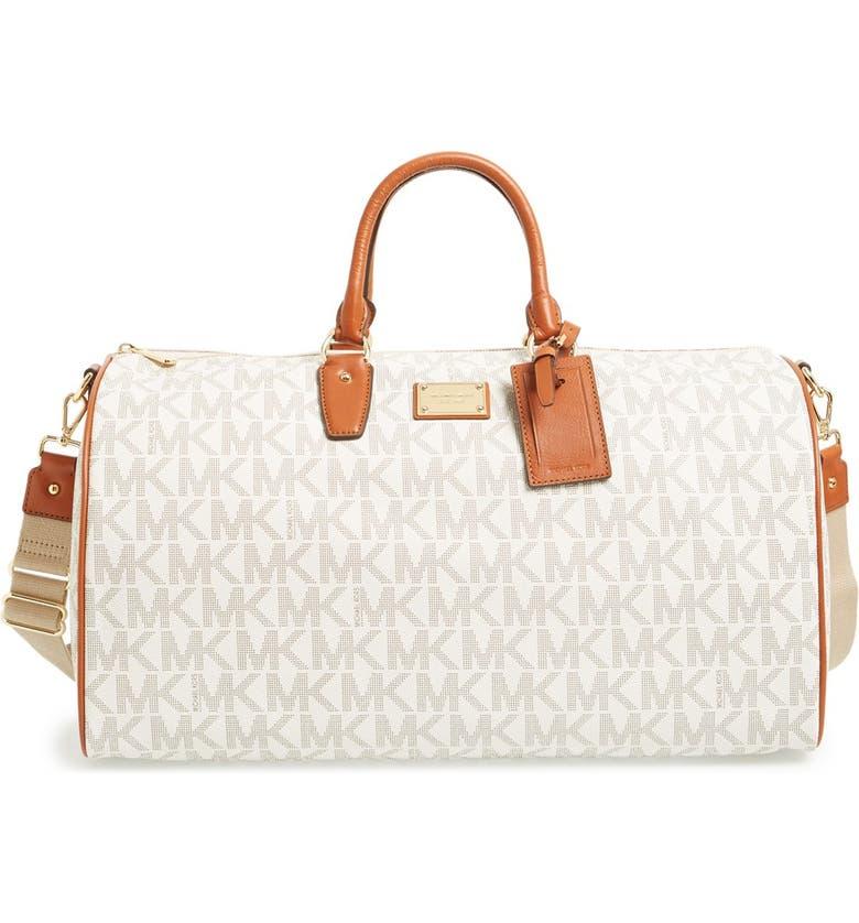 9857193e3469 MICHAEL Michael Kors  Large Jet Set  Duffel Bag