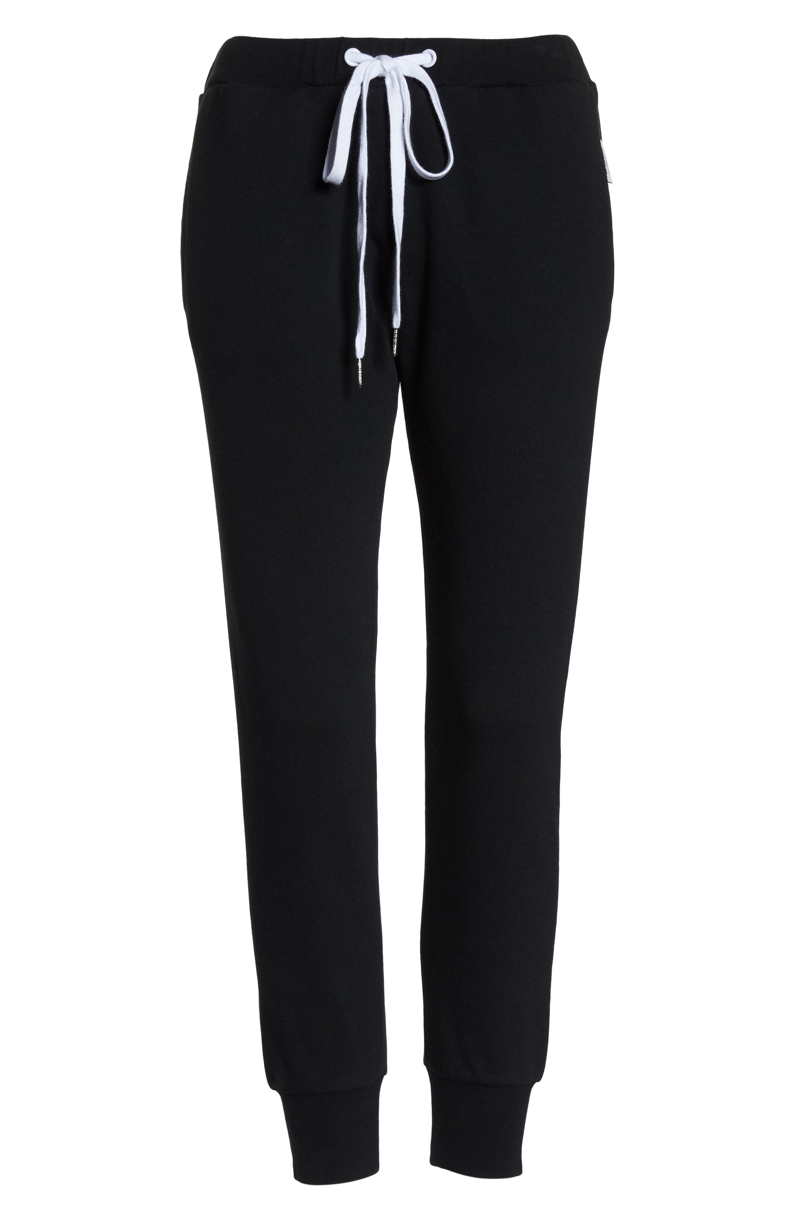 Lounge Pants,                             Alternate thumbnail 6, color,                             BLACK