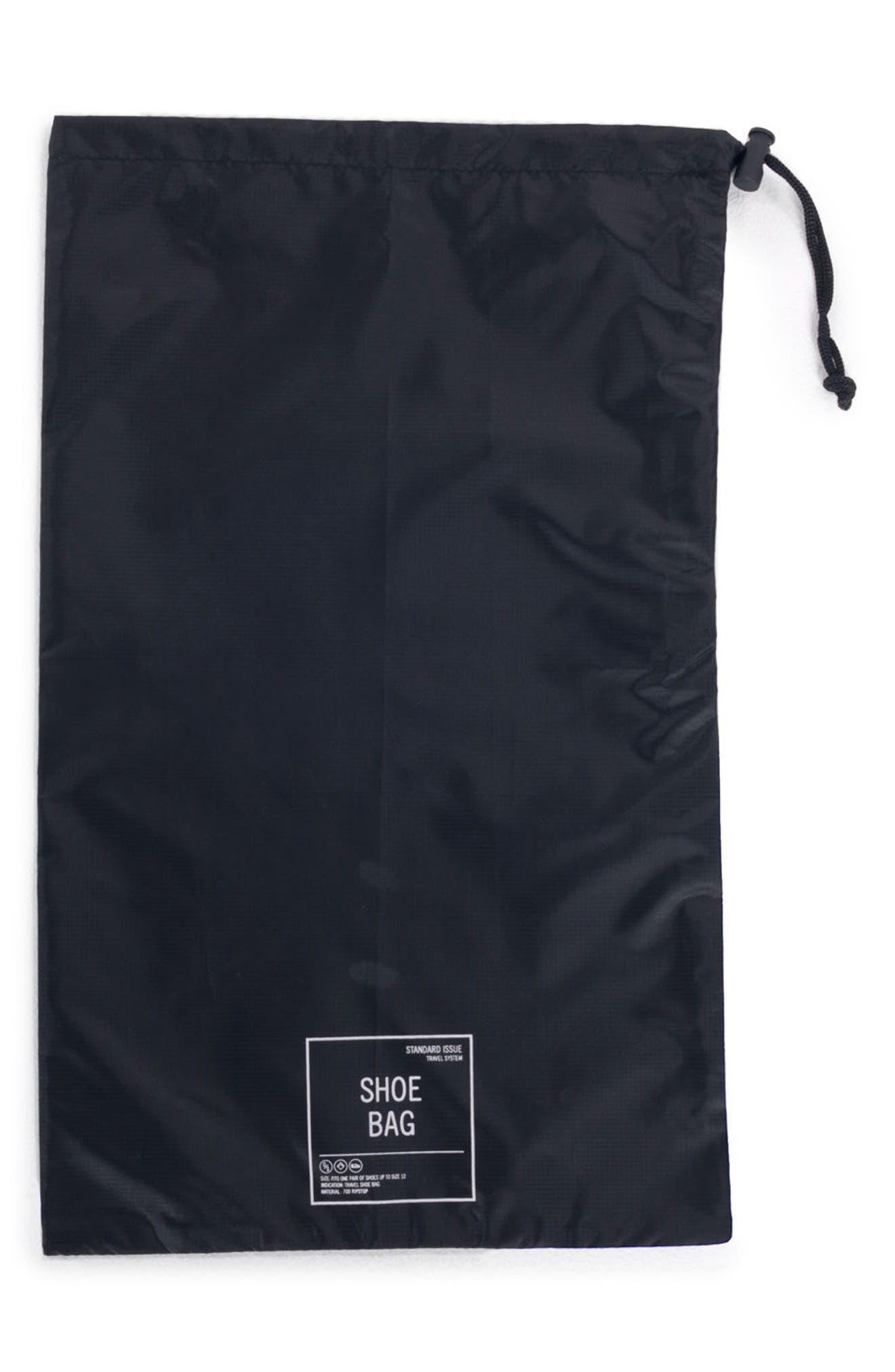 Shoe Bag Set,                             Alternate thumbnail 3, color,                             BLACK