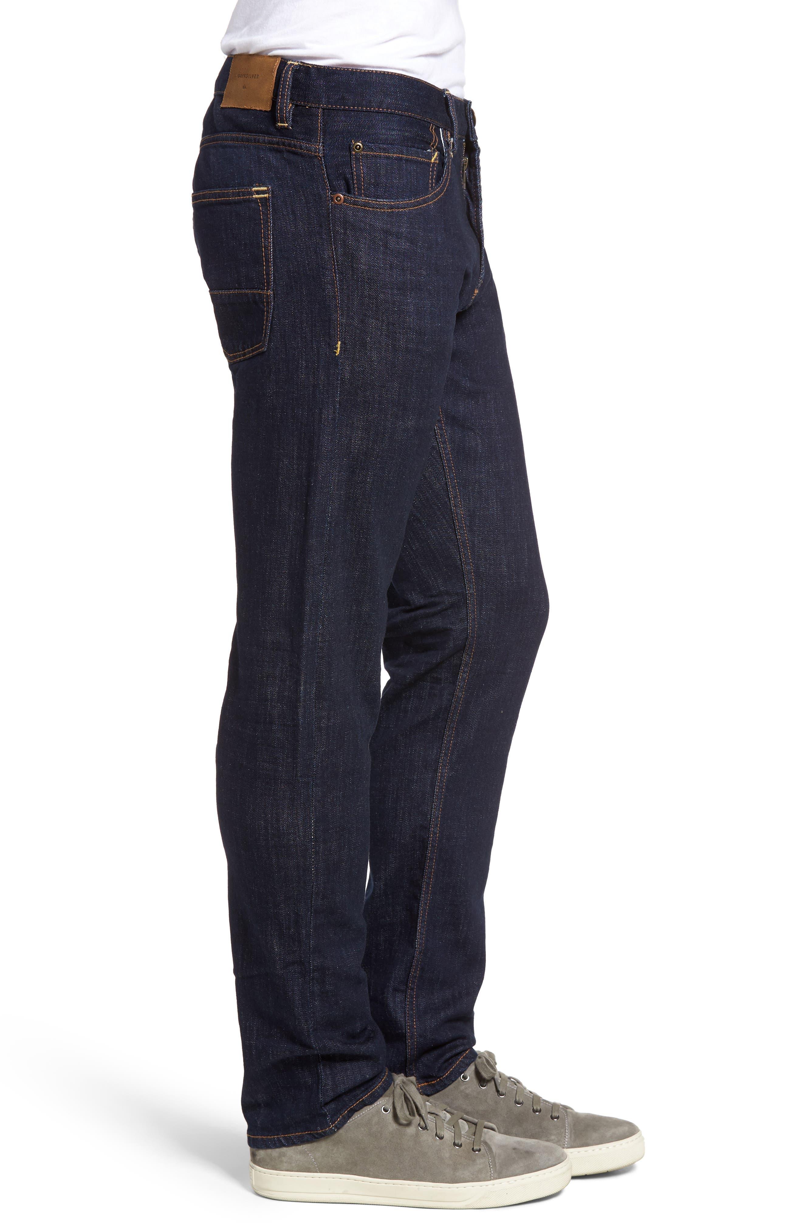 Revolver Slim Fit Jeans,                             Alternate thumbnail 3, color,                             401
