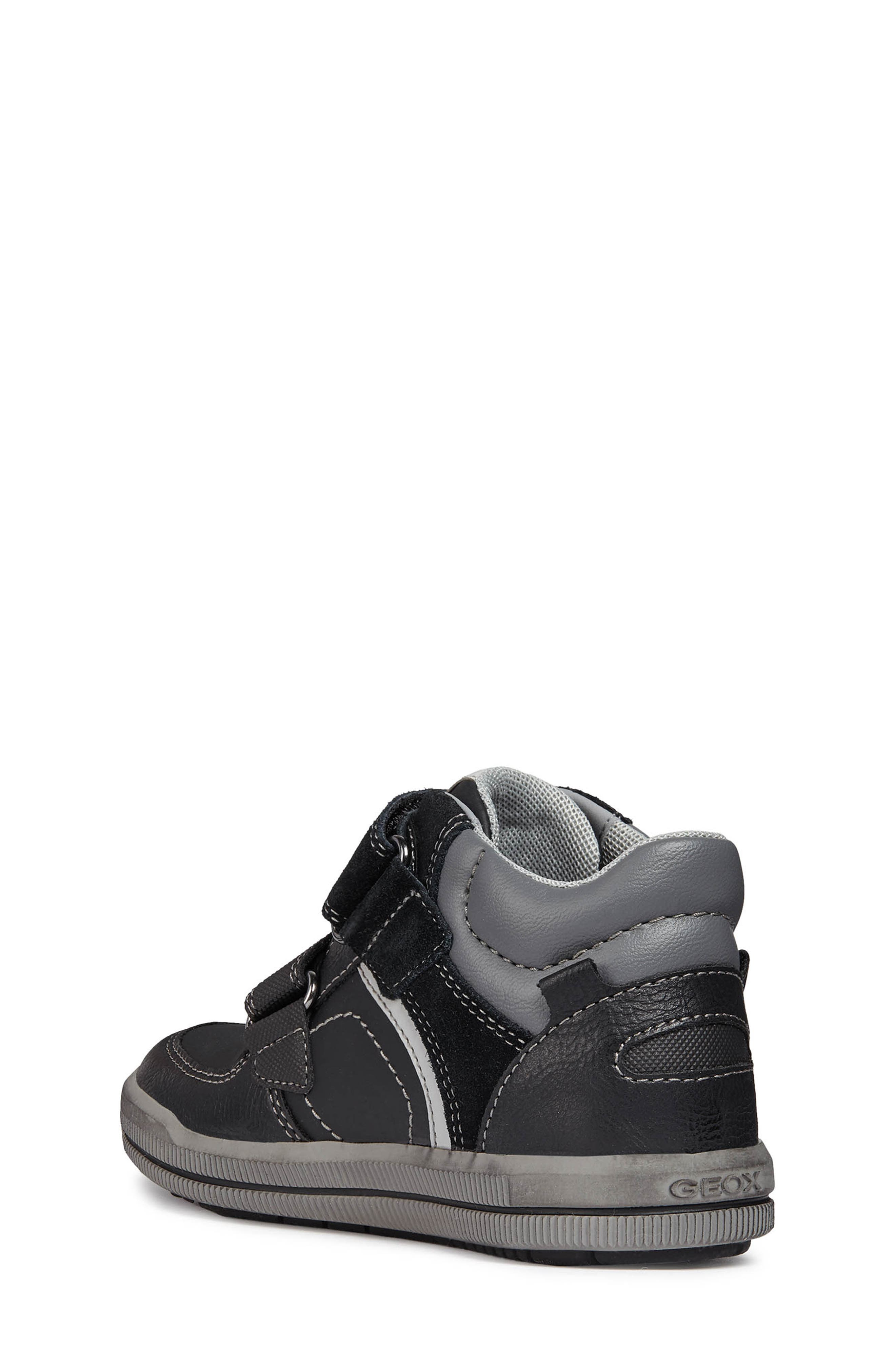Arzach High-Top Sneaker,                             Alternate thumbnail 2, color,                             BLACK/DARK GREY