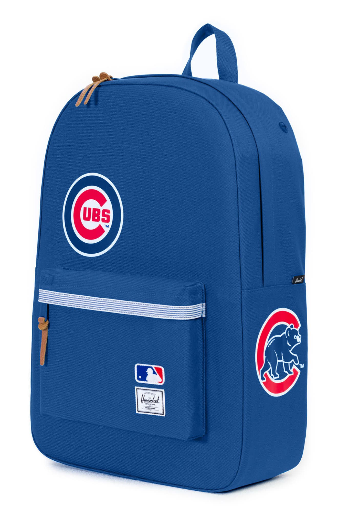 Heritage Chicago Cubs Backpack,                             Alternate thumbnail 4, color,                             CHICAGO CUBS