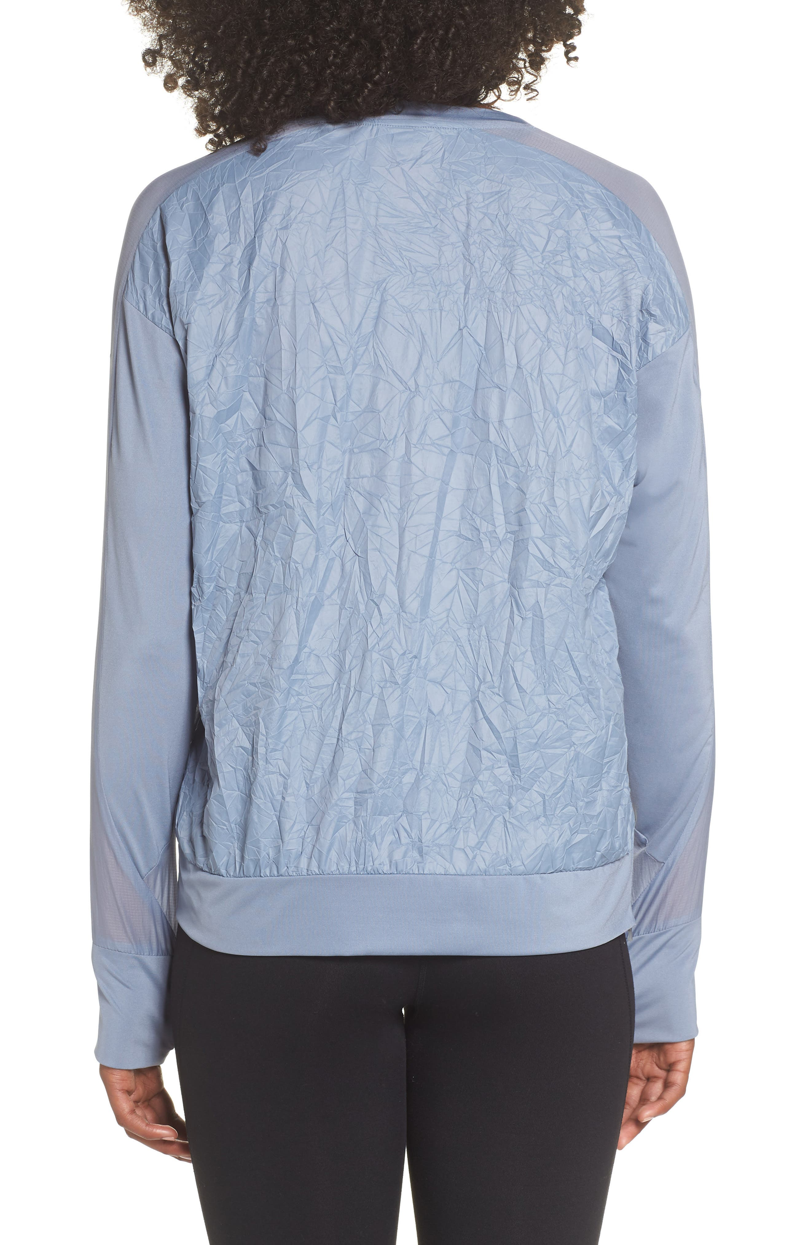 Water Repellent Pullover Running Jacket,                             Alternate thumbnail 2, color,                             020