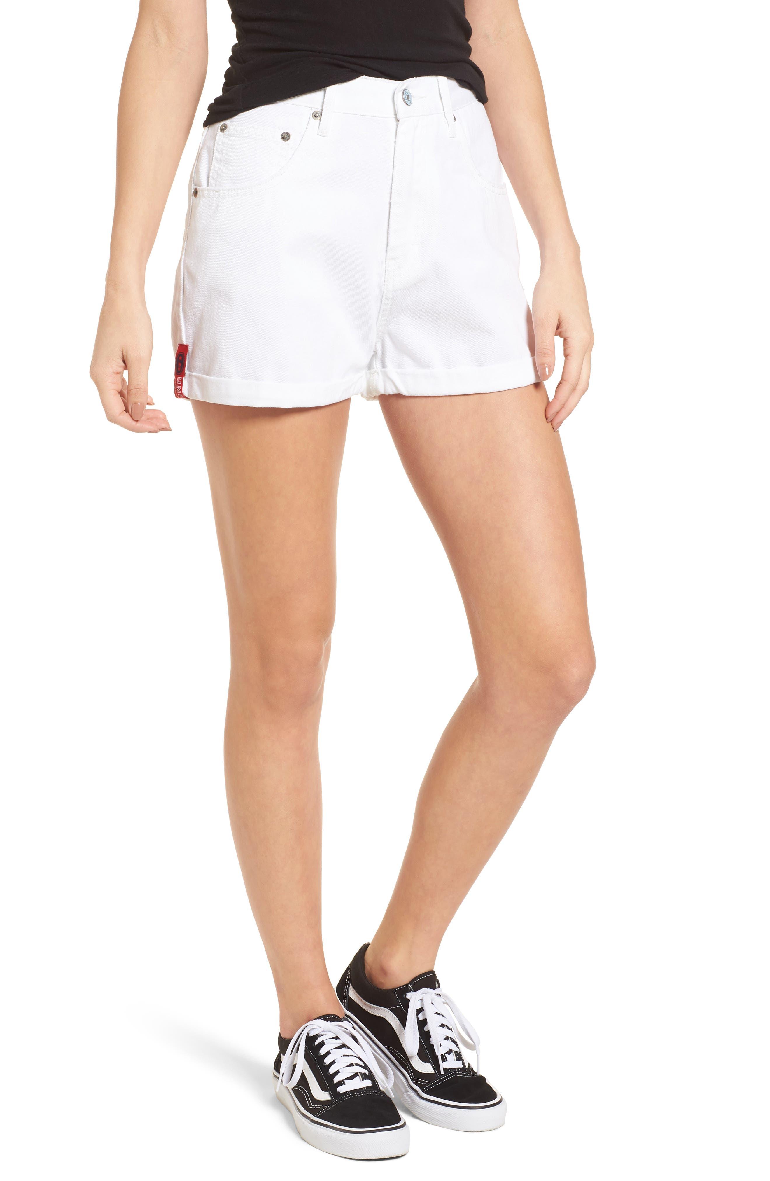 Unionbay UB Tab Denim Shorts,                         Main,                         color, 100