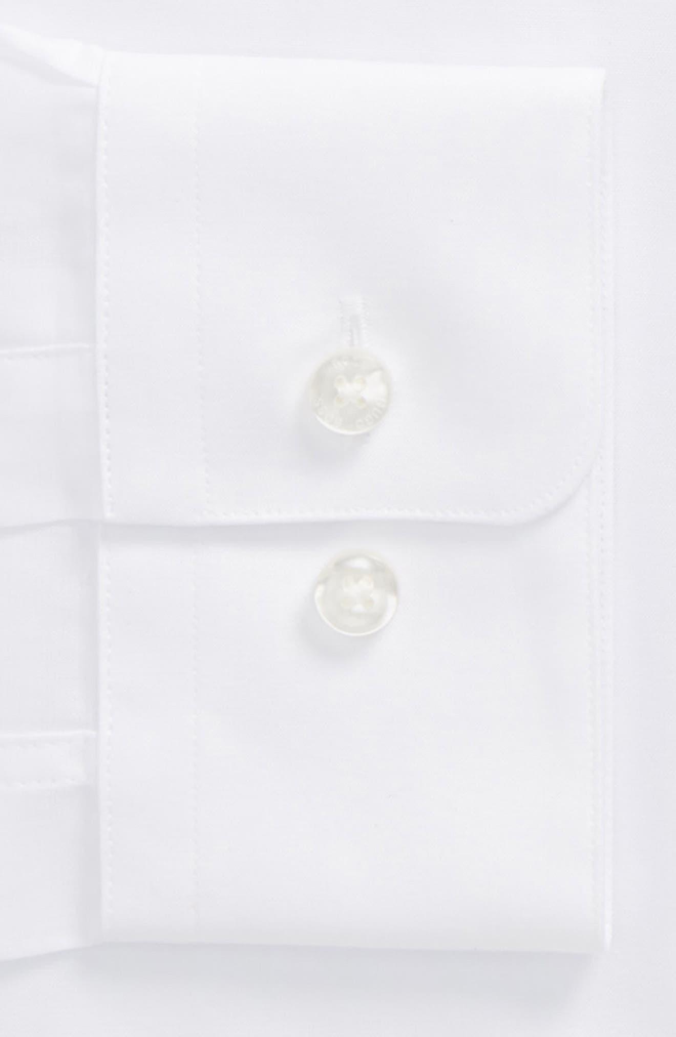 Jordi Slim Fit Solid Band Collar Dress Shirt,                             Alternate thumbnail 2, color,