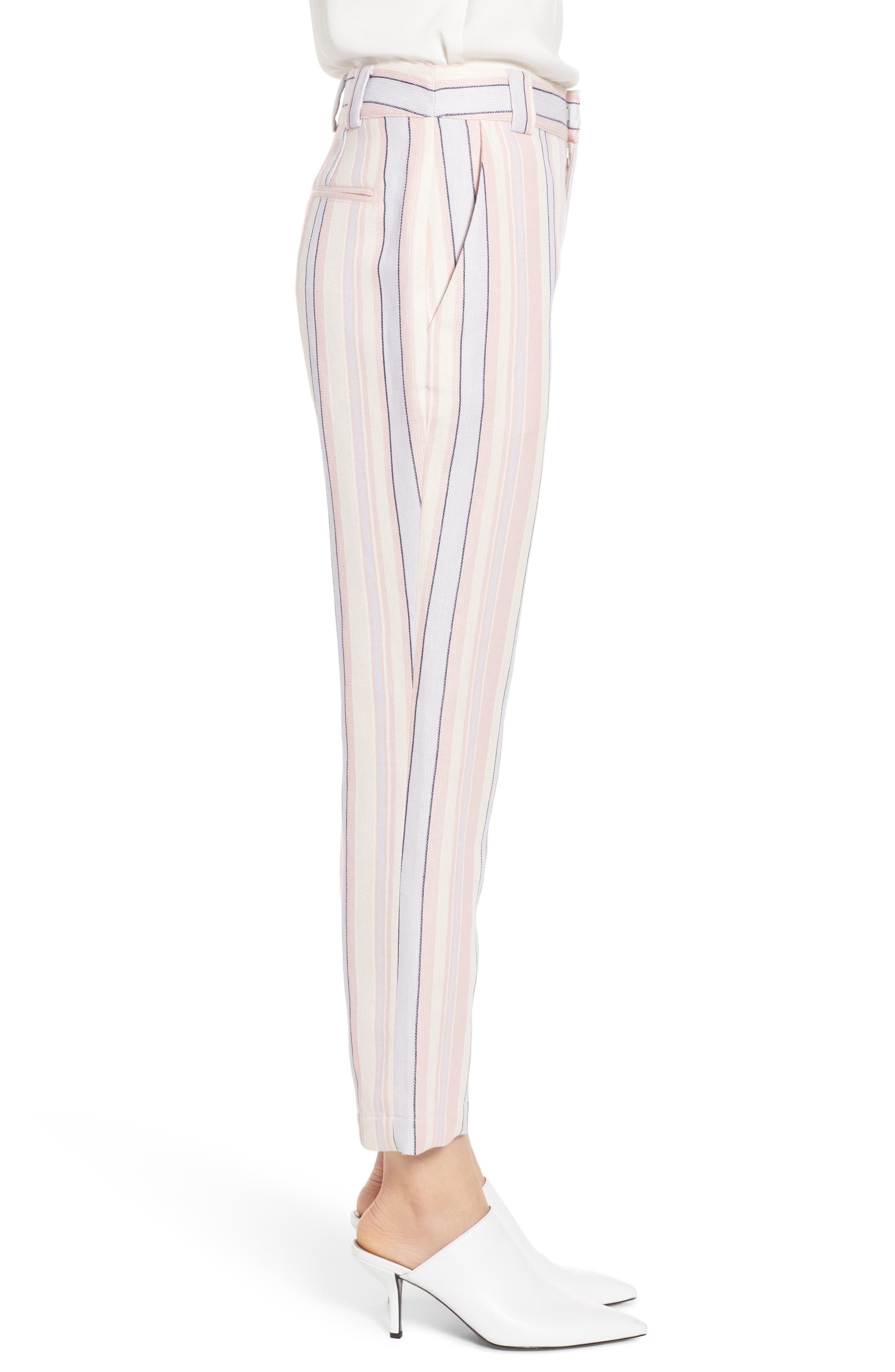 Ginger Stripe Pants,                             Alternate thumbnail 3, color,                             MULTI