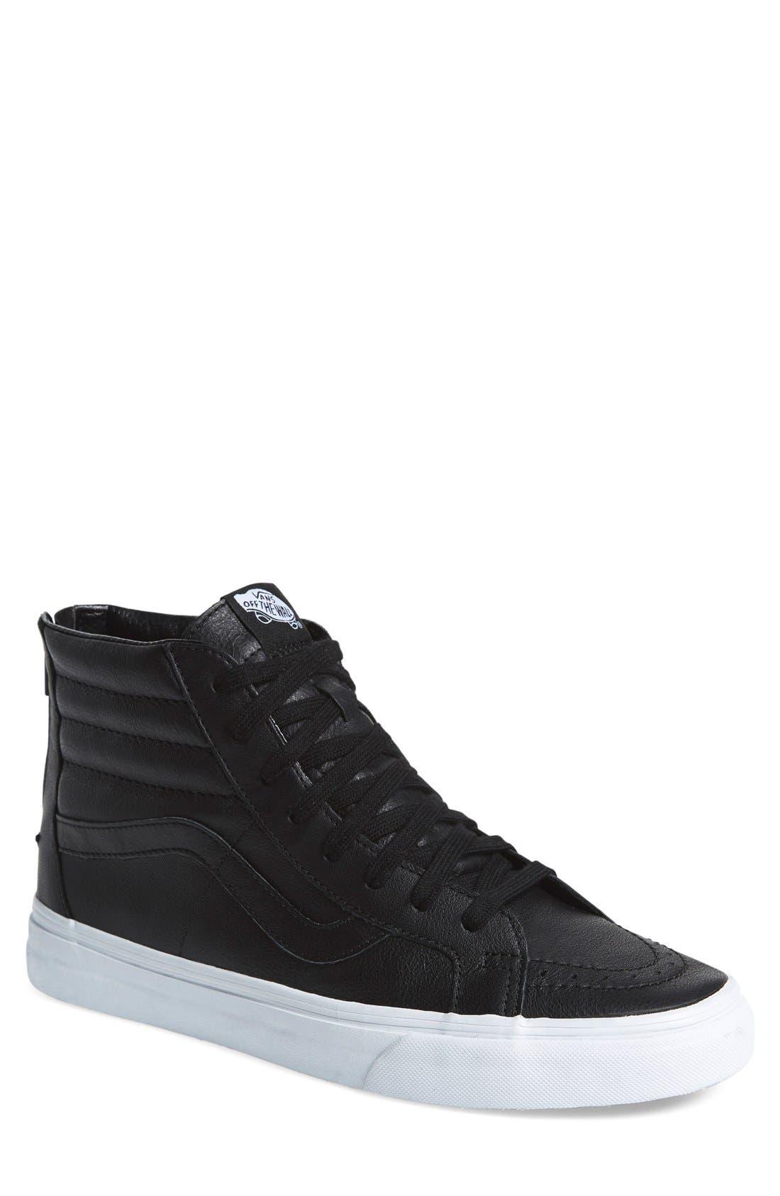 'Sk8-Hi Reissue' Sneaker,                         Main,                         color, 001