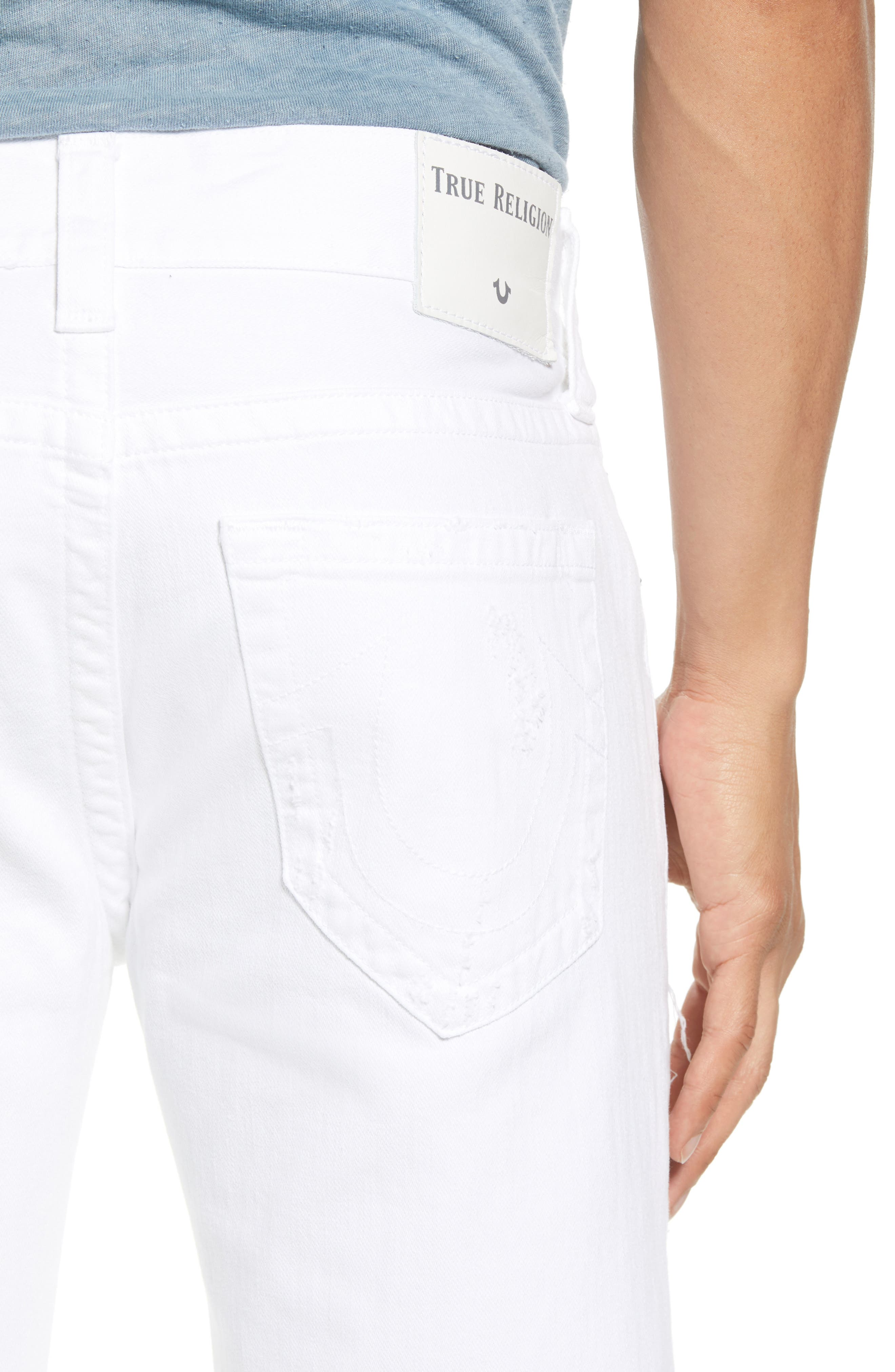 Rocco Skinny Fit jeans,                             Alternate thumbnail 4, color,                             WHITE VOLCANIC ASH