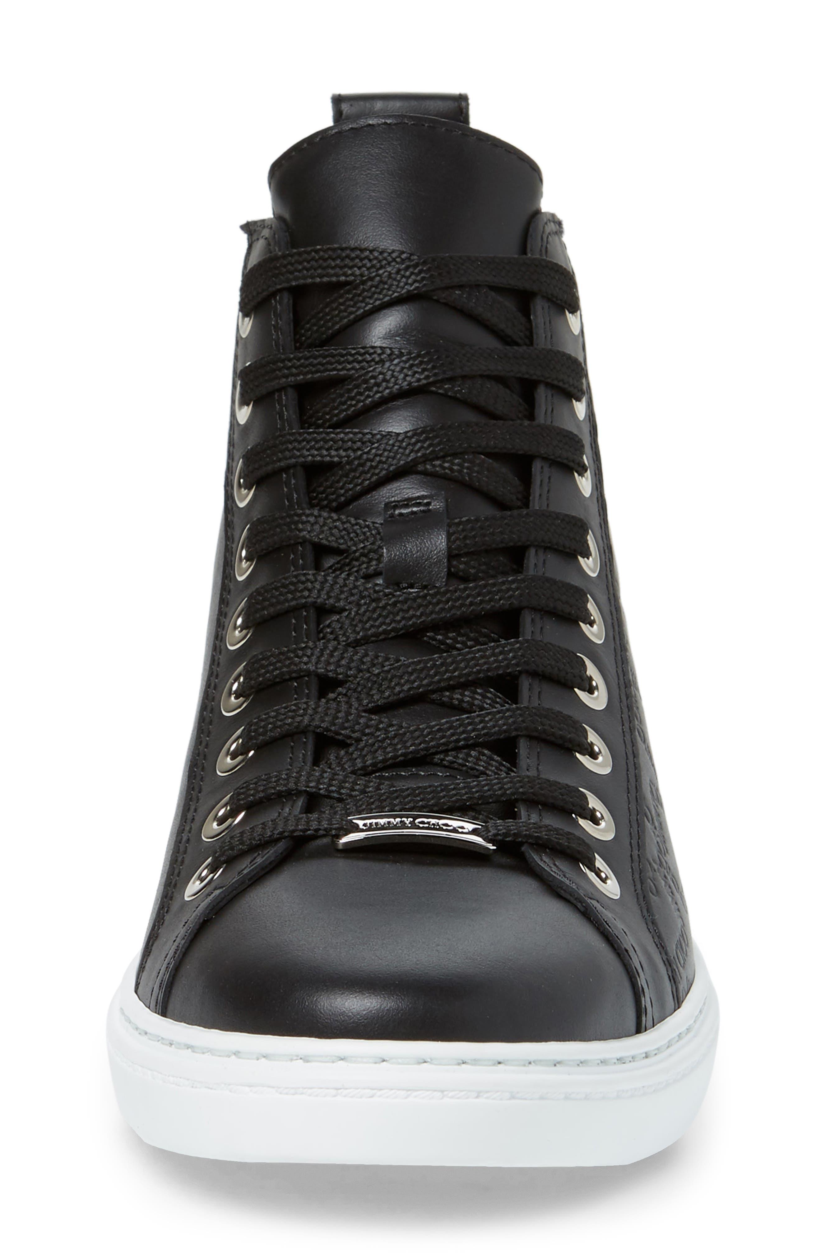 Colt High Top Sneaker,                             Alternate thumbnail 4, color,                             001