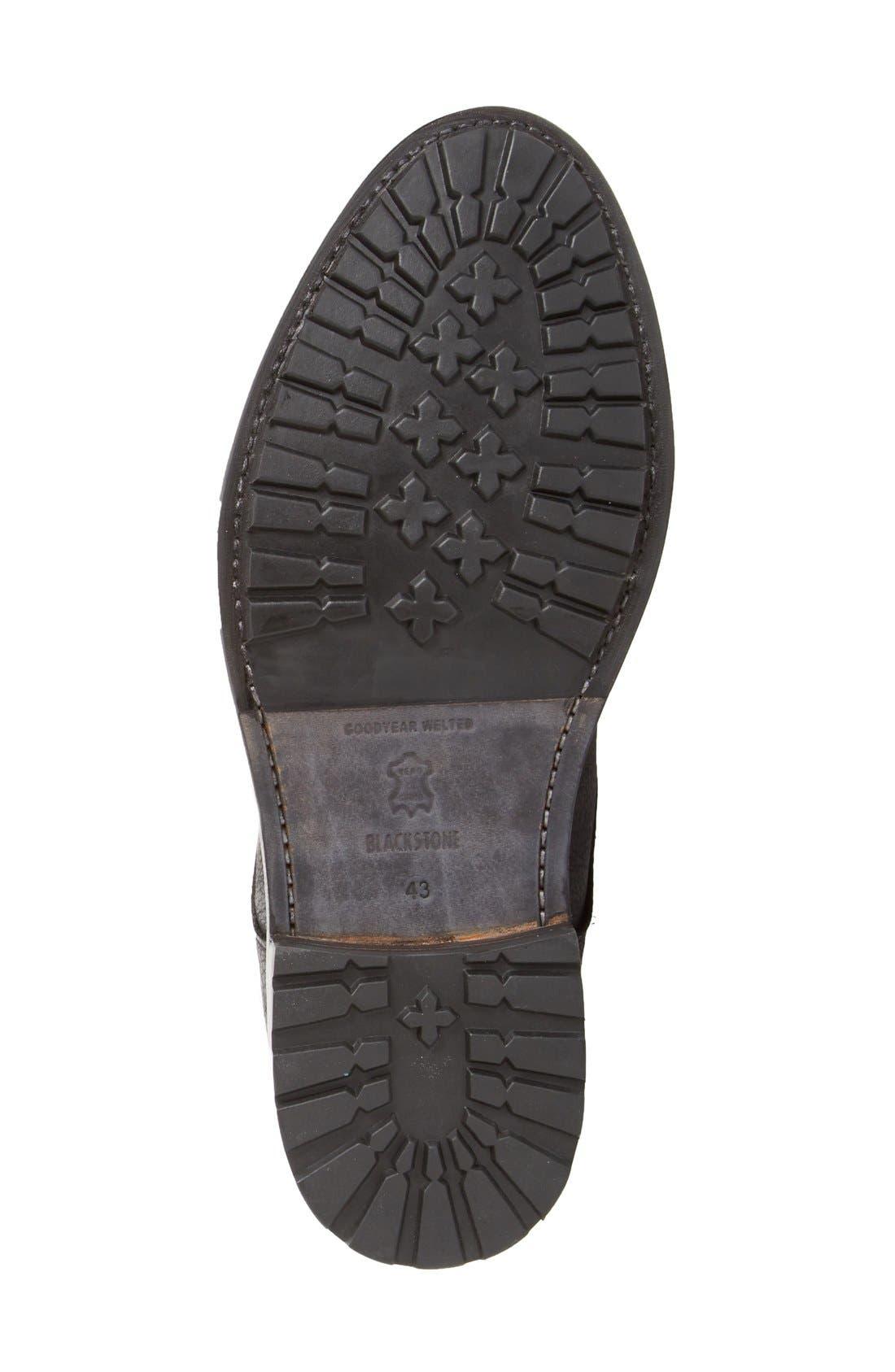 'KM32' Plain Toe Boot,                             Alternate thumbnail 4, color,                             001