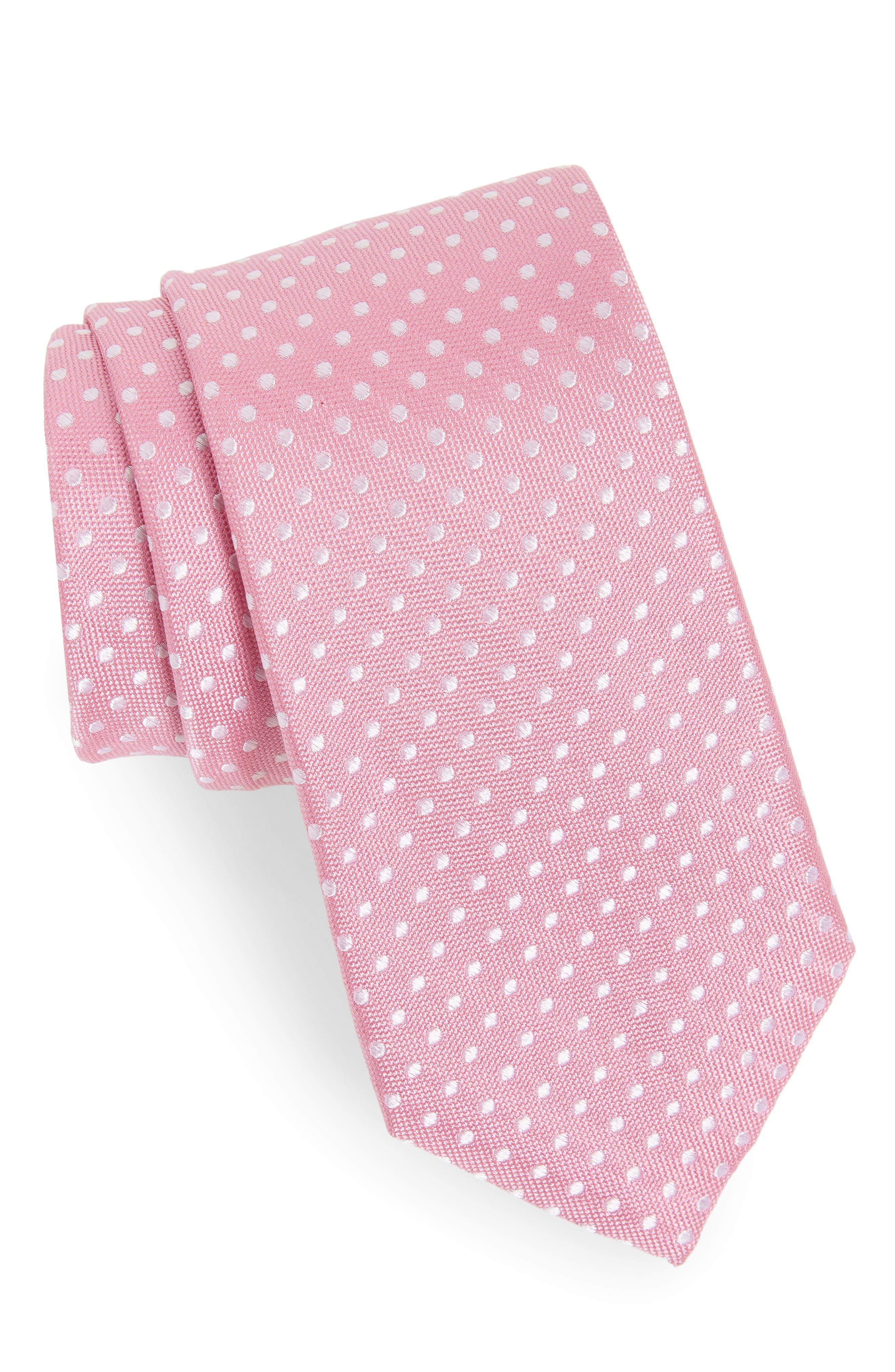Norton Dot Silk Tie,                             Main thumbnail 6, color,