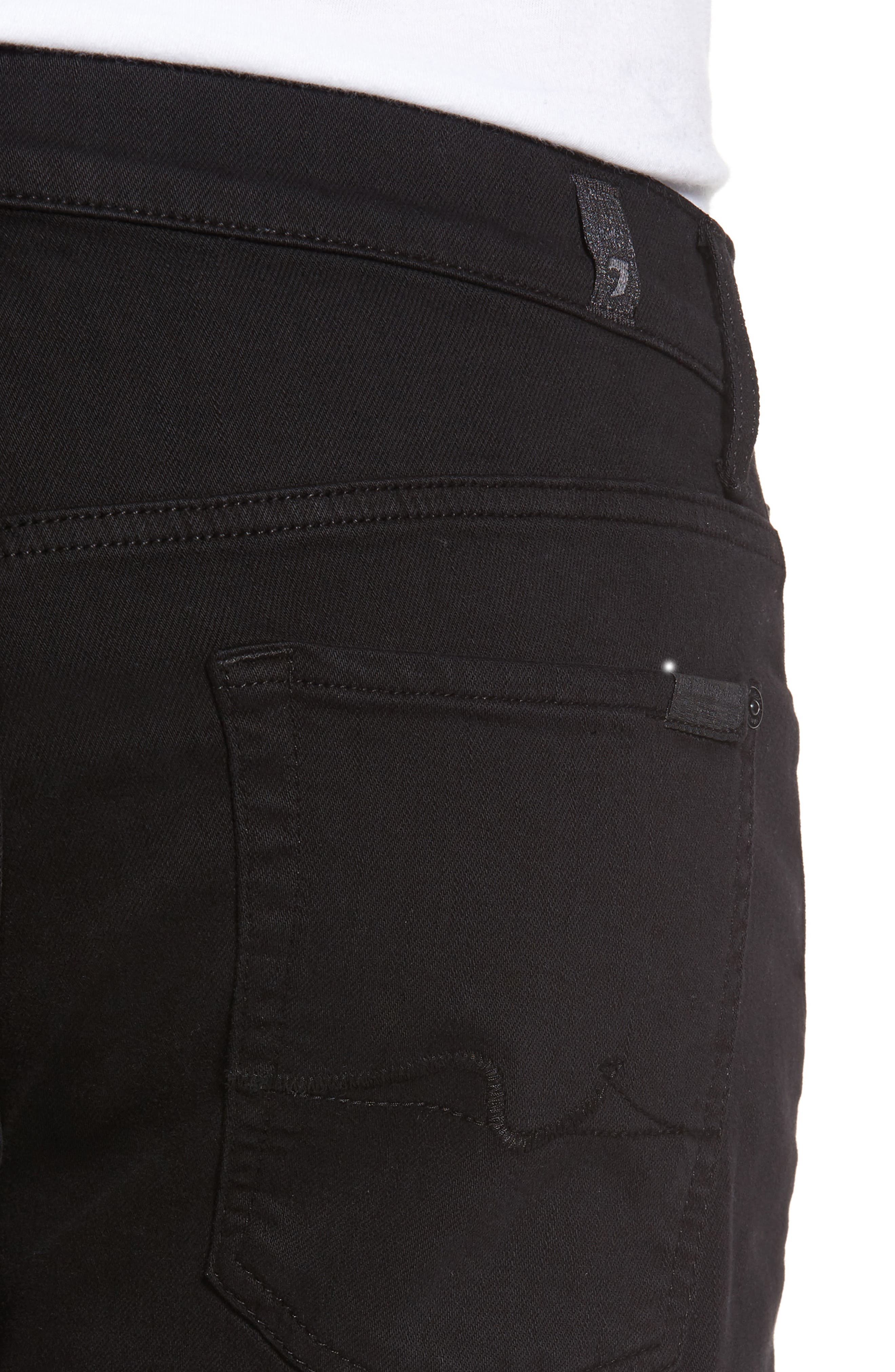 The Standard Straight Leg Jeans,                             Alternate thumbnail 4, color,                             ANNEX BLACK
