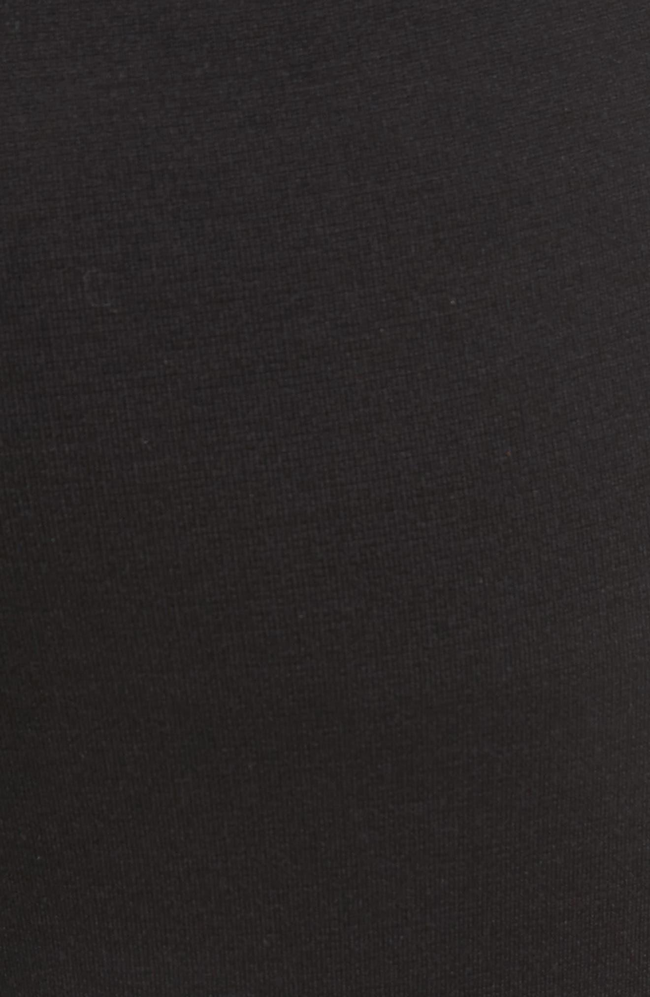 Ponte Stirrup Pants,                             Alternate thumbnail 5, color,                             001