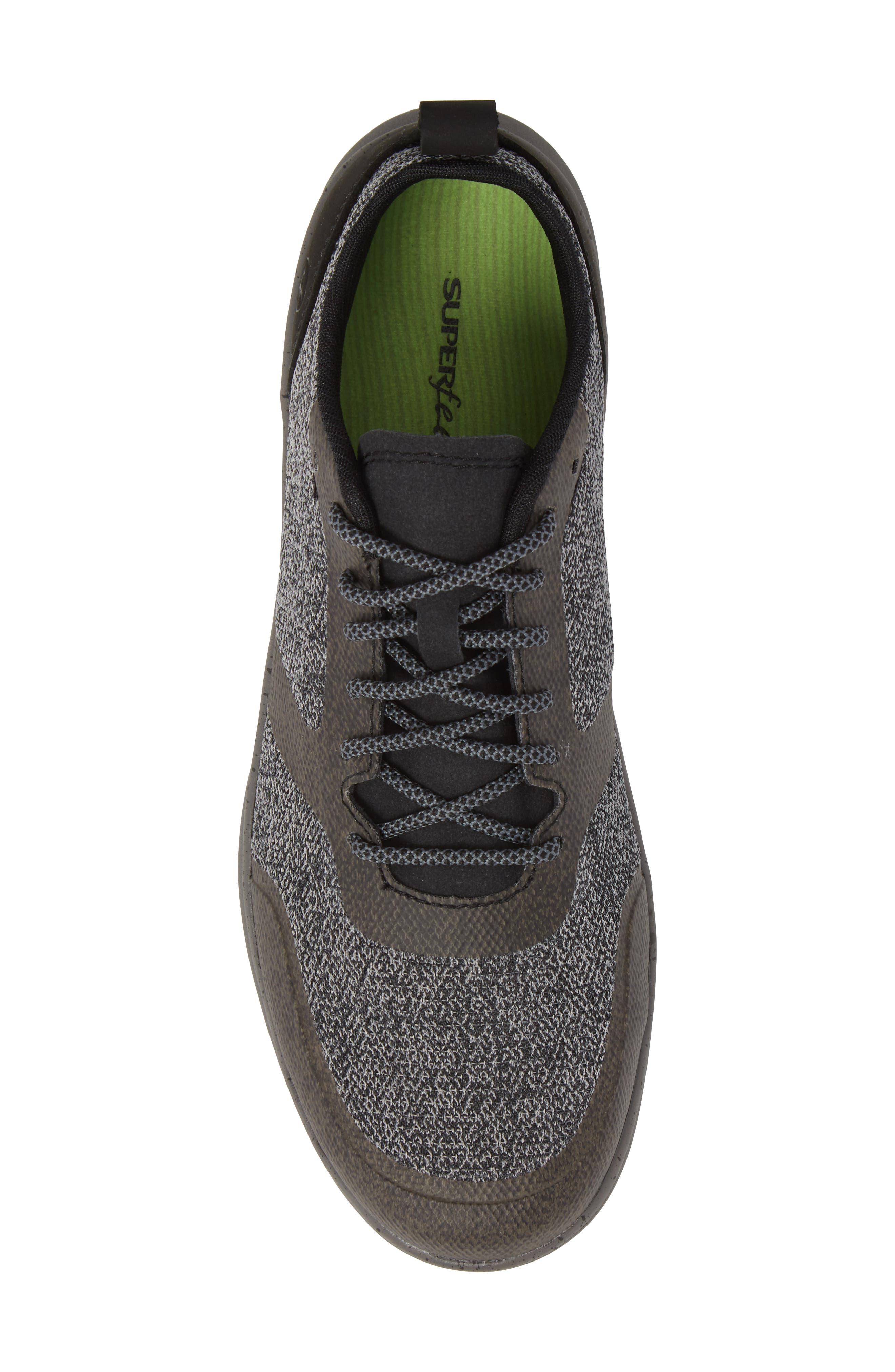 Worldwide Stuart MX Sneaker,                             Alternate thumbnail 5, color,                             BLACK