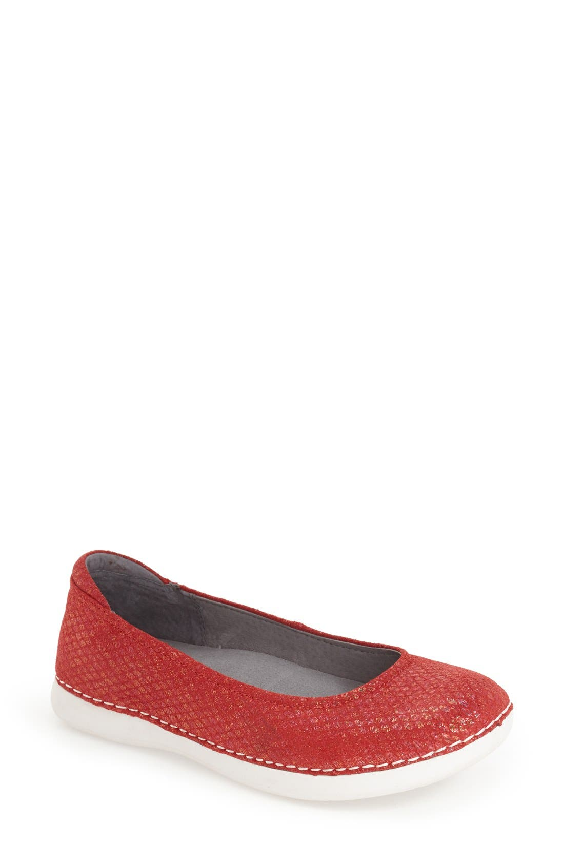 Petal Ballet Flat,                             Main thumbnail 9, color,