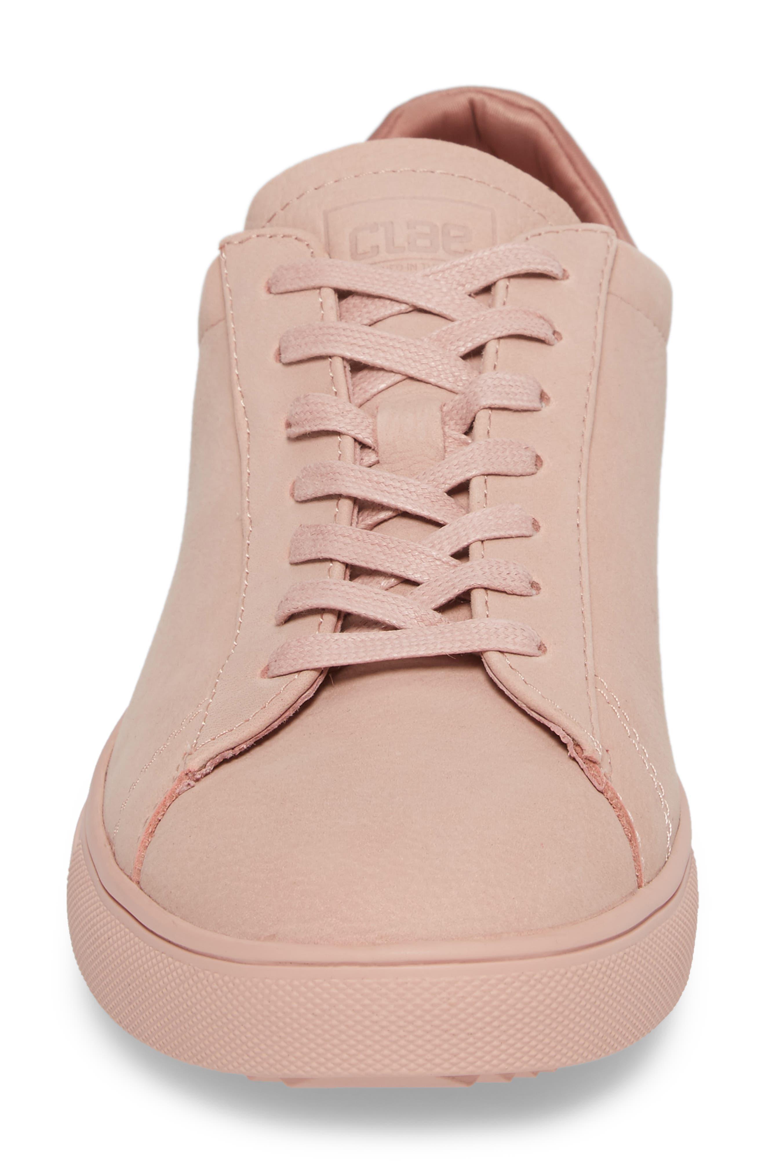 'Bradley' Sneaker,                             Alternate thumbnail 4, color,                             ROSE NUBUCK