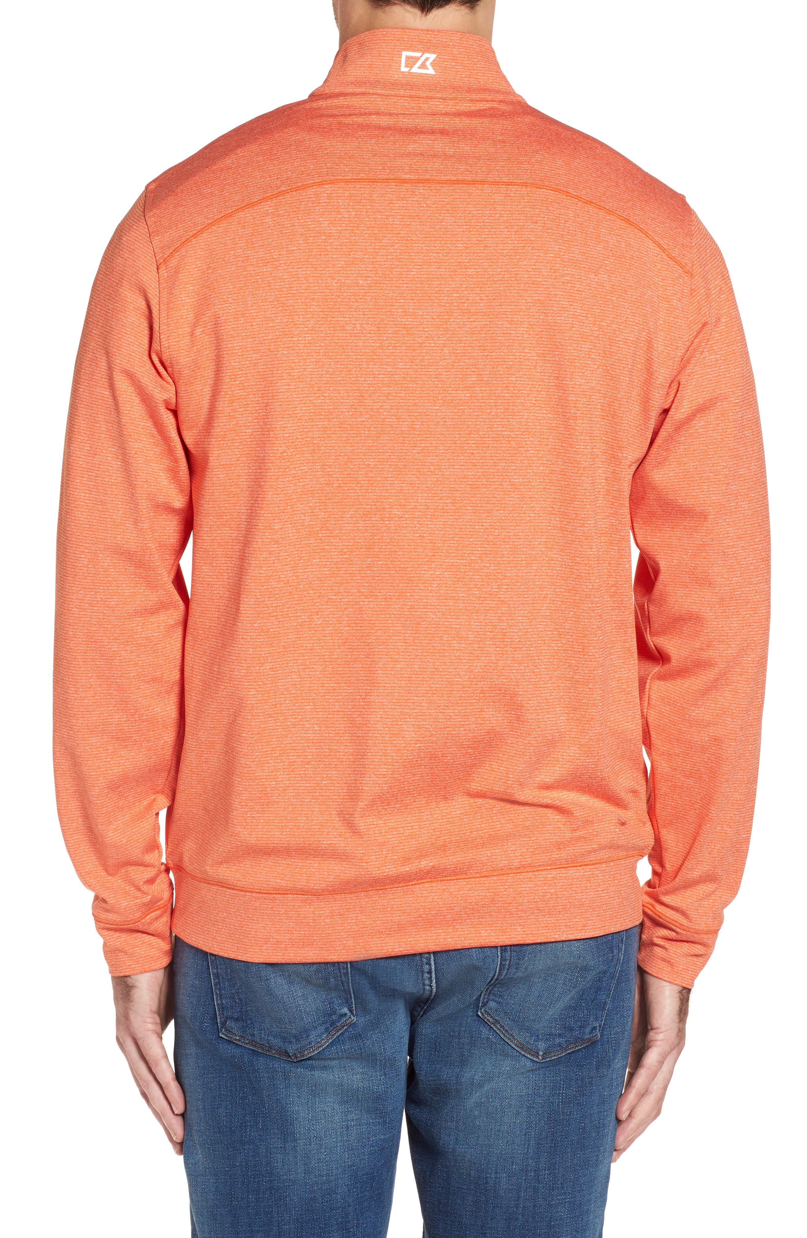 Shoreline - Denver Broncos Half Zip Pullover,                             Alternate thumbnail 2, color,                             816