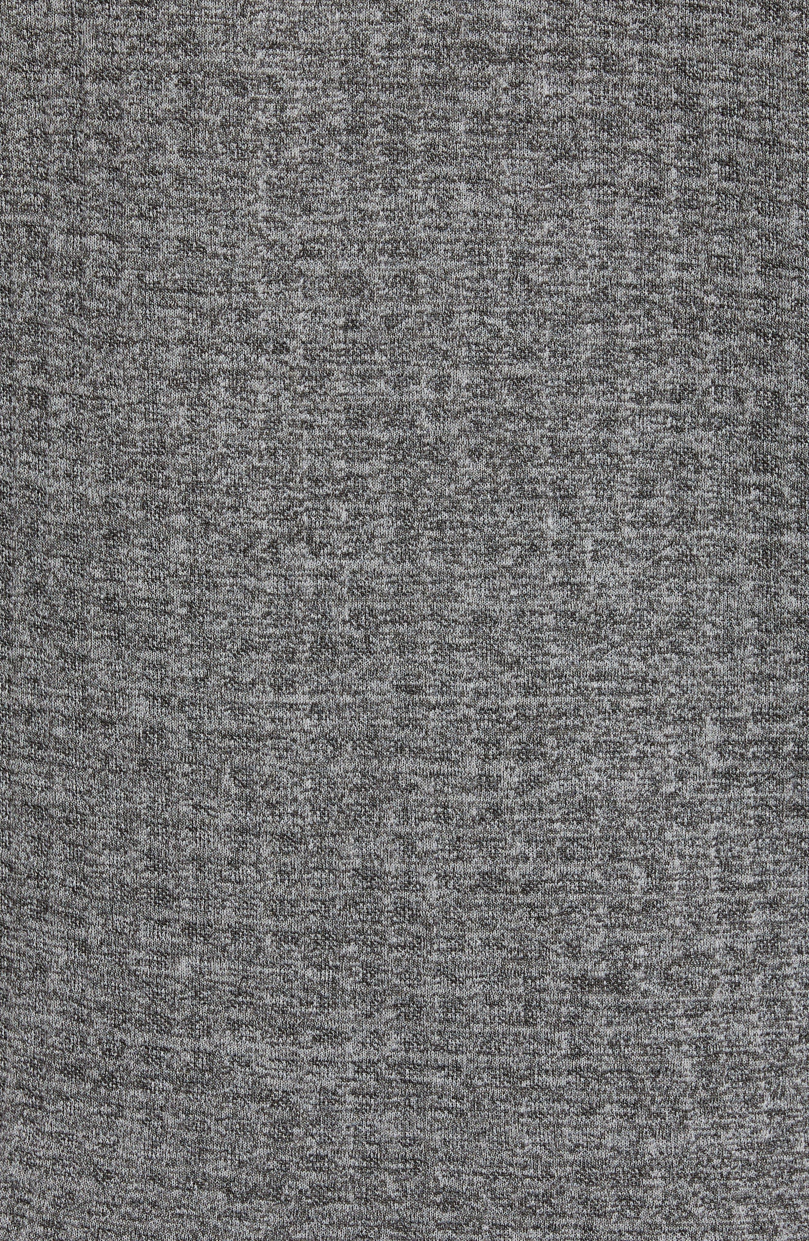 Slim Fit Funnel Neck Sweatshirt,                             Alternate thumbnail 6, color,                             GREY