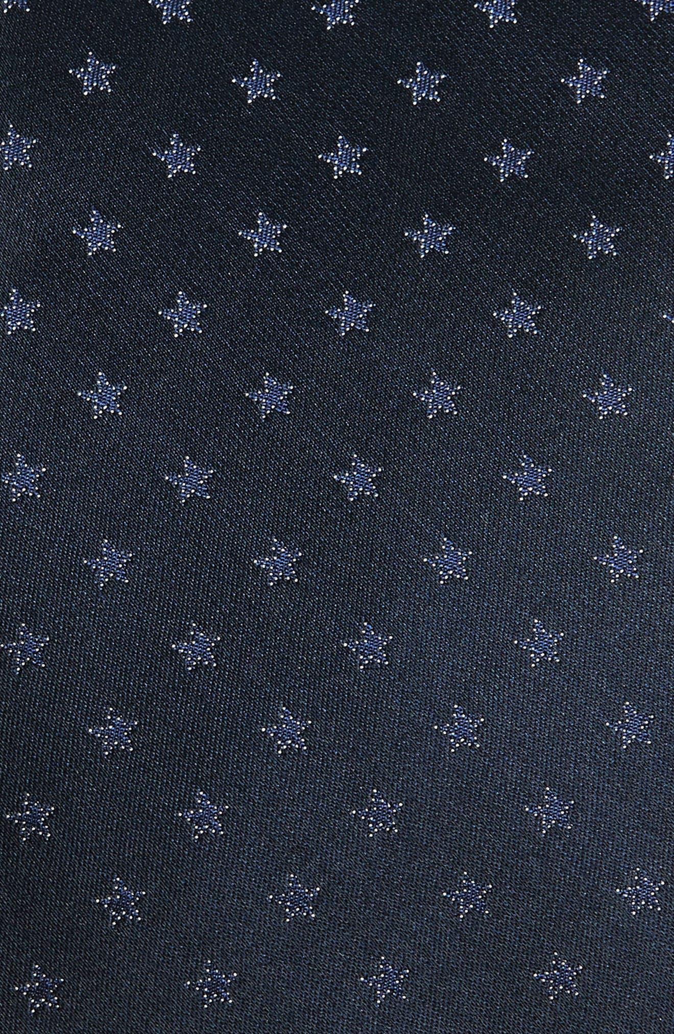 Star Silk Tie,                             Alternate thumbnail 2, color,                             405